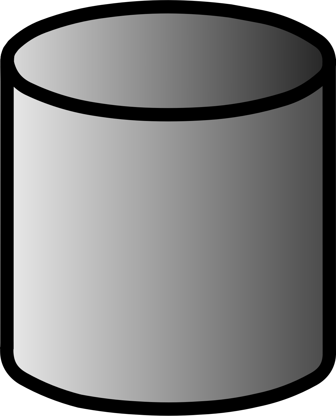 Clipart - Database Symbol Labelled