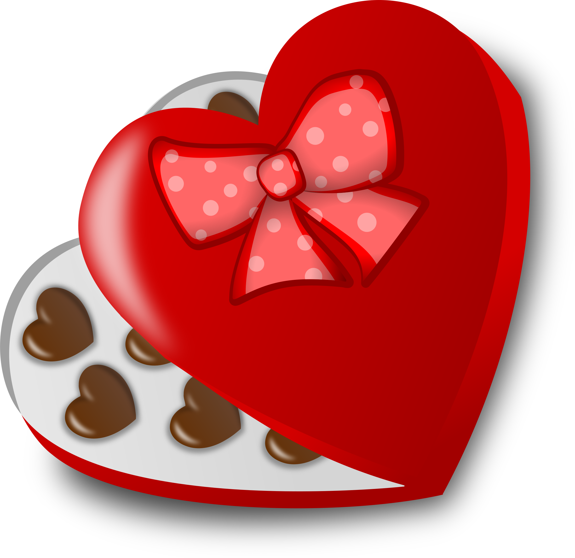 Clipart - Box of chocolates