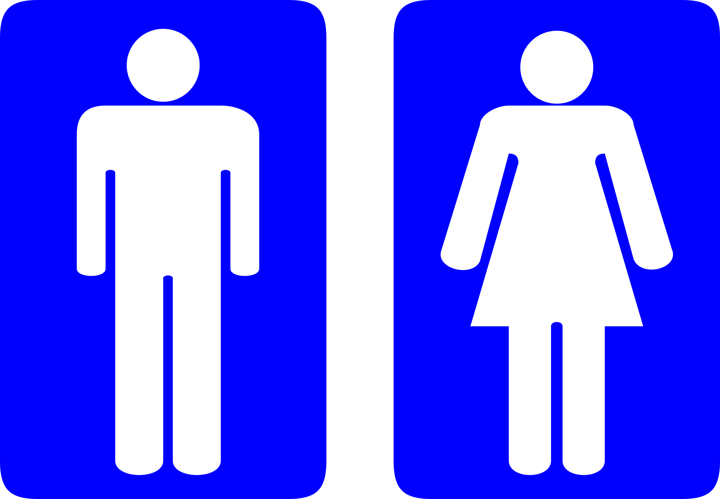 Toilet Signs by wariat