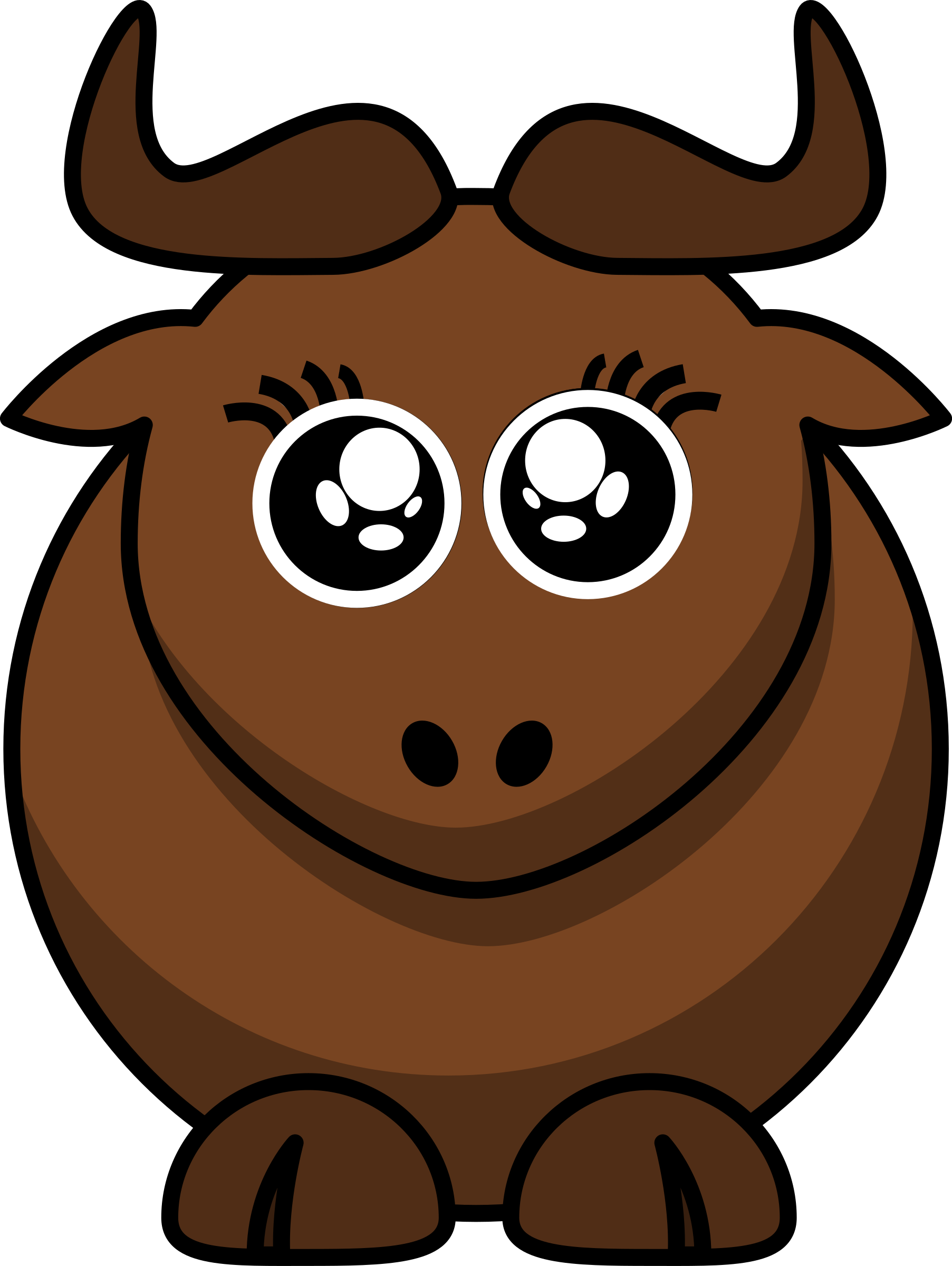 Cartoon Gnu Eyes2 by ephemeralwaves
