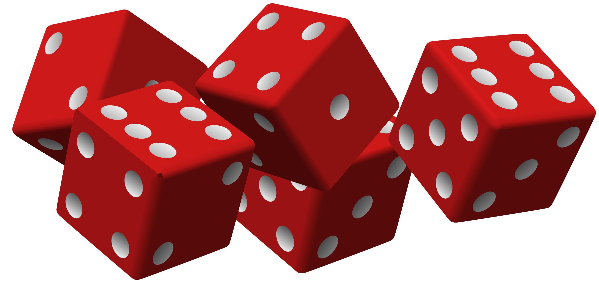 five red dice by mariotomo