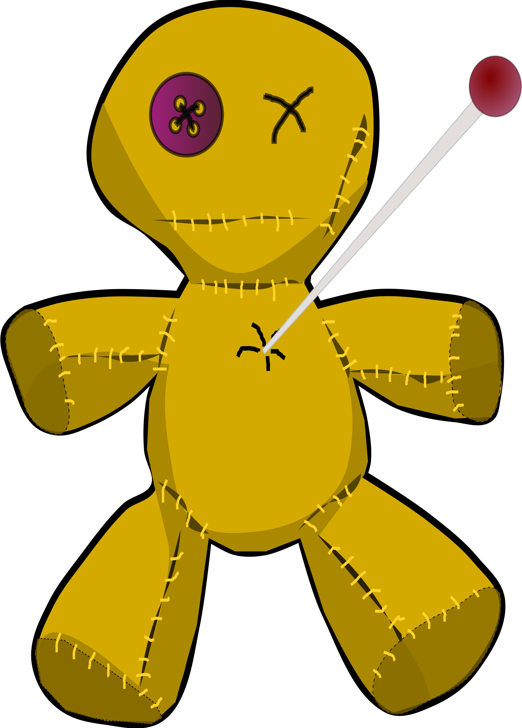 voodoo doll by artbejo