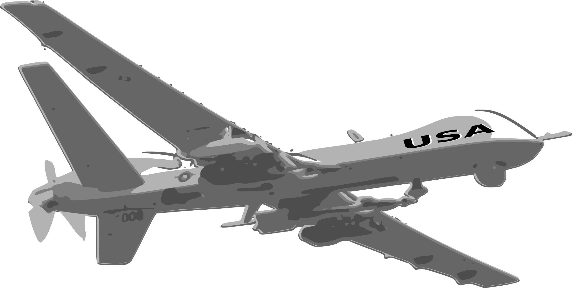 Predator Drone by Joe Linux