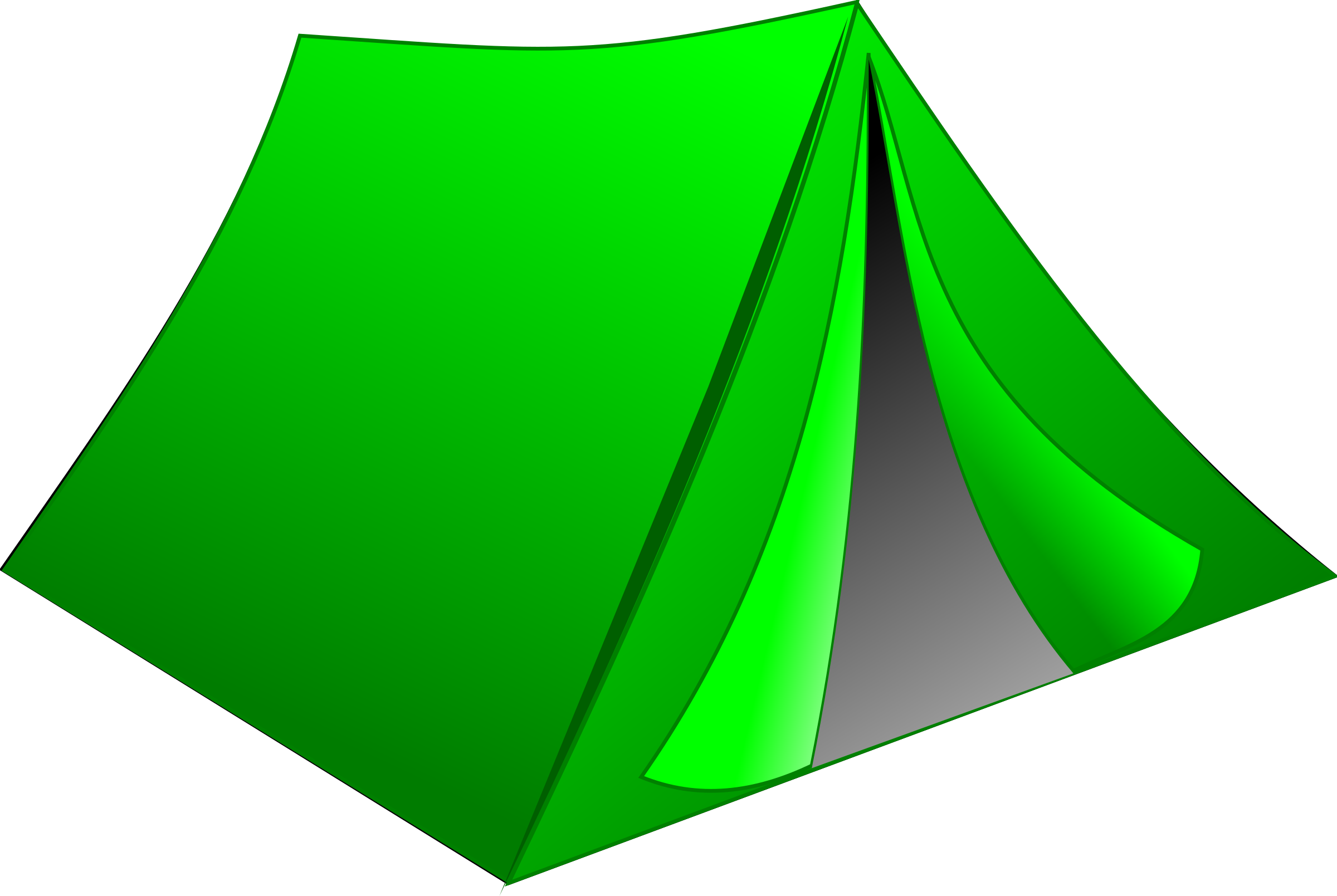 Green Tent by stamps