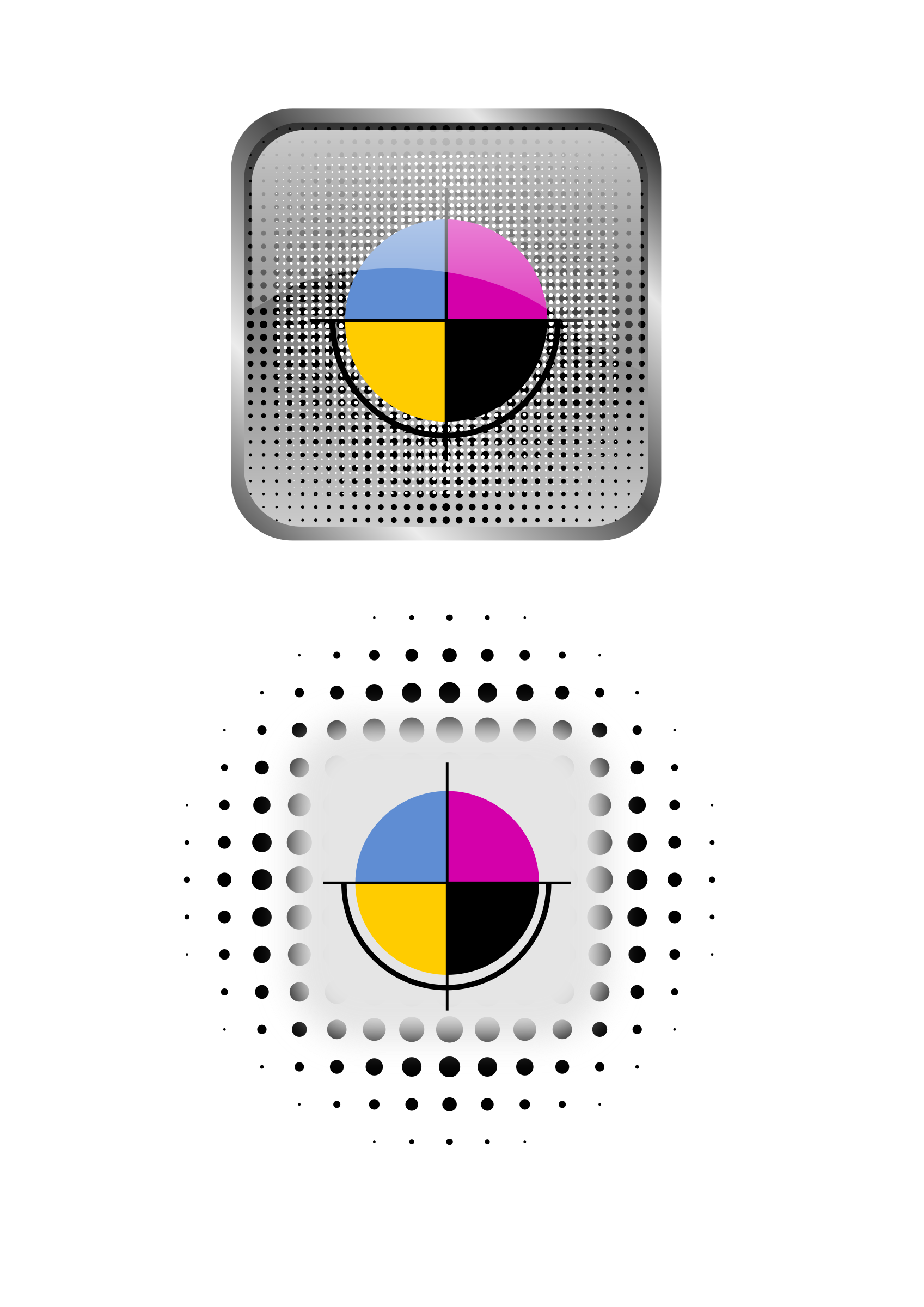 CMYK icons by Gespenst