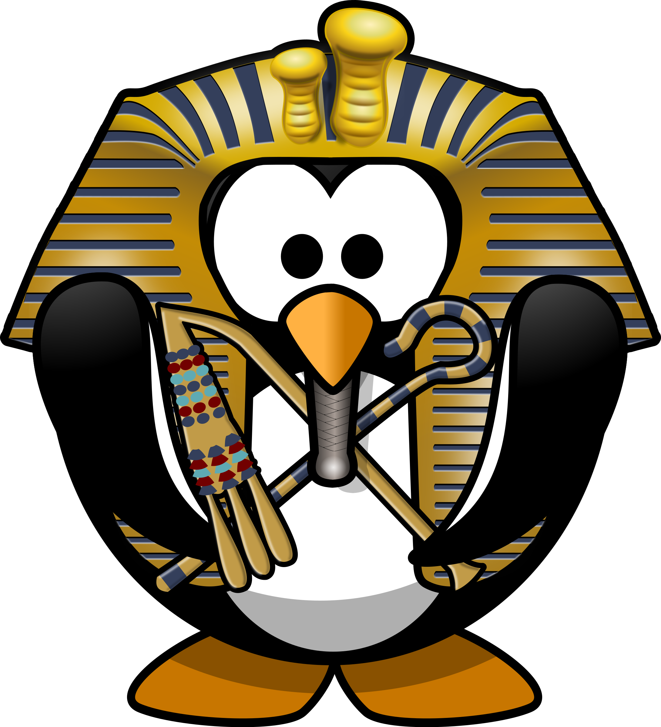 Tut-Ankh-Penguin by Moini