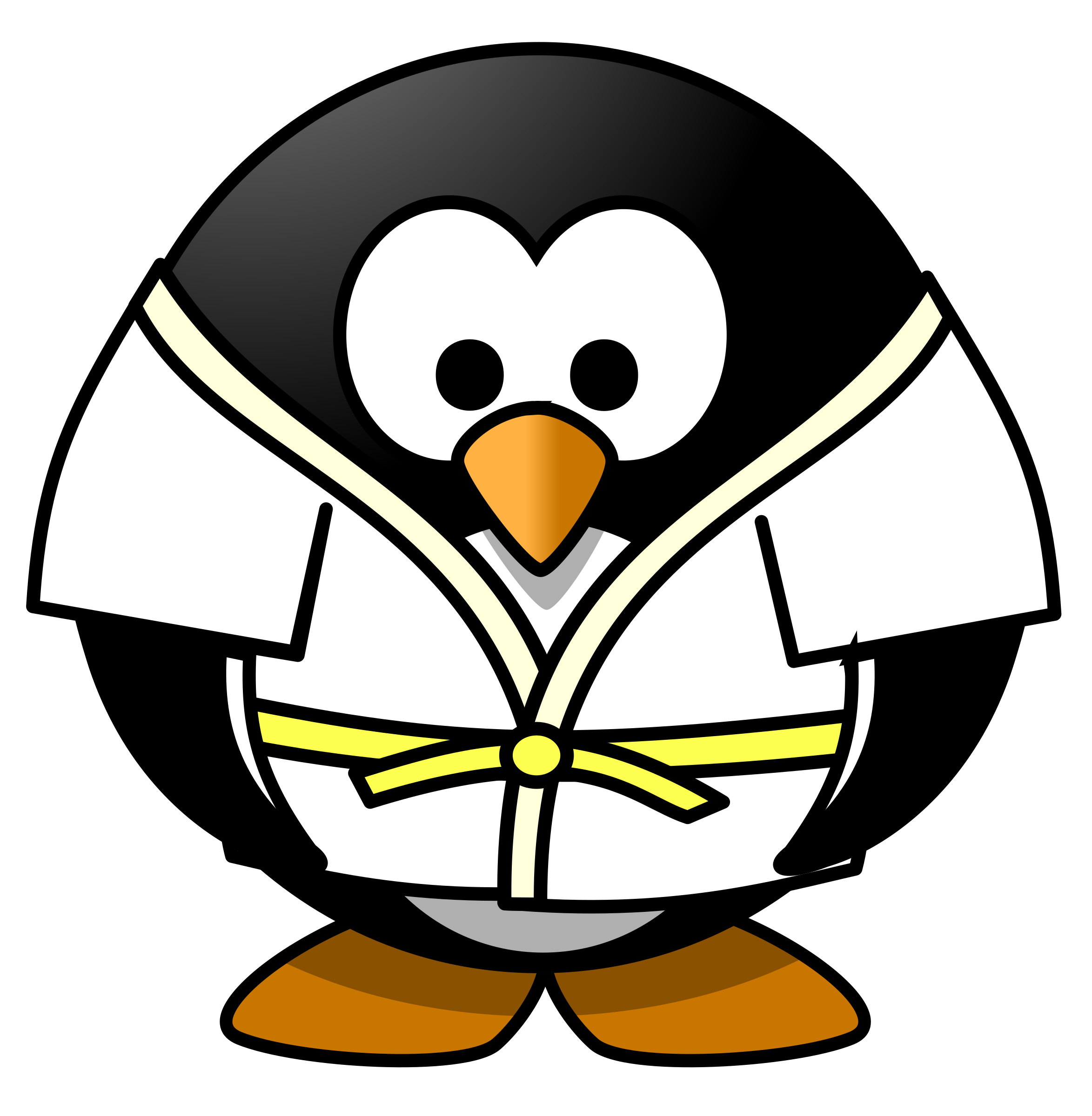 Judo Penguin by osotogari
