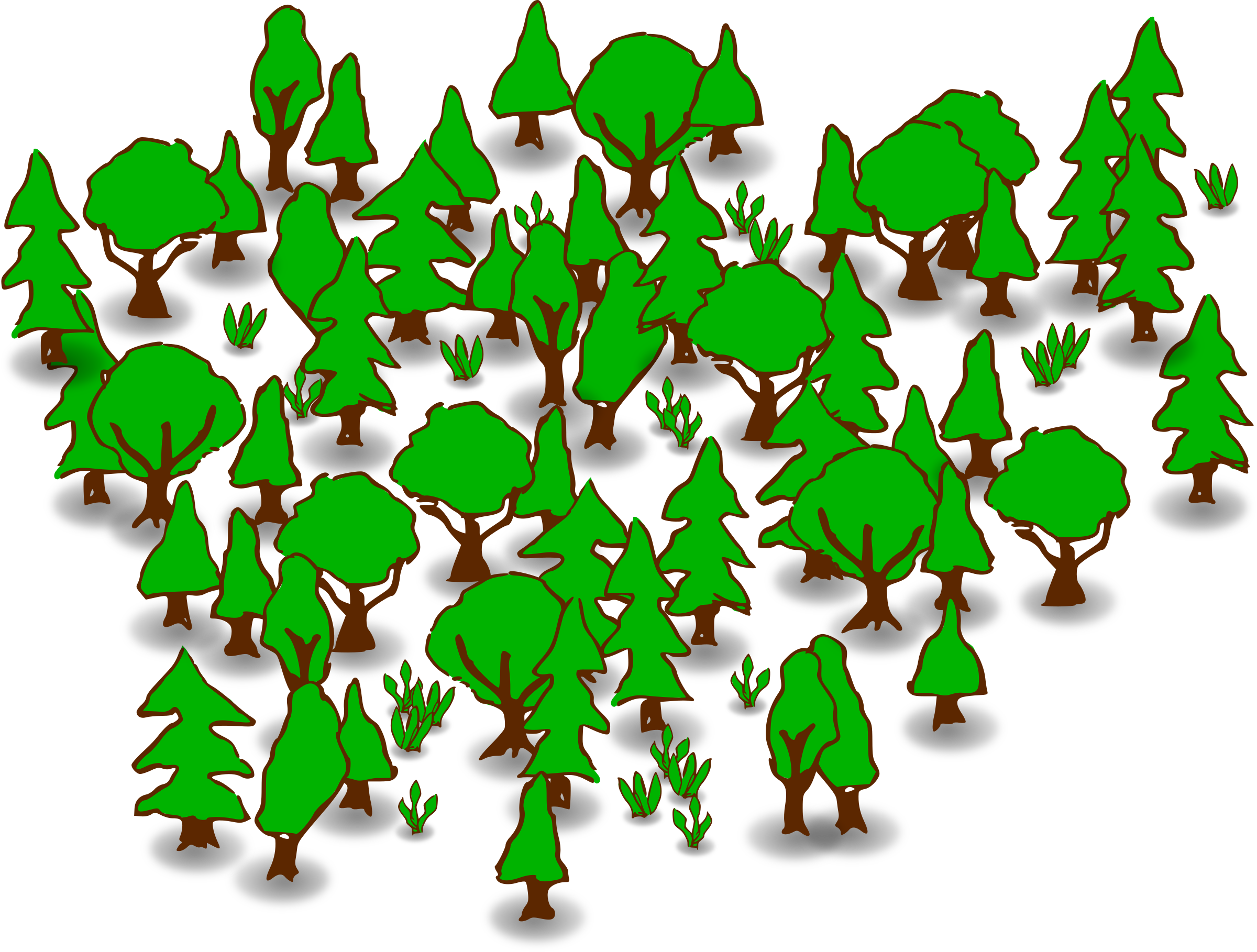 clipart forest rh openclipart org clipart forest fire clipart forest from birds eye view