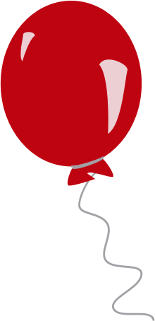 red balloon by estitic