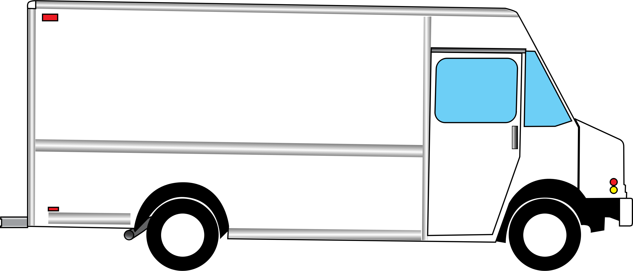 clipart box truck