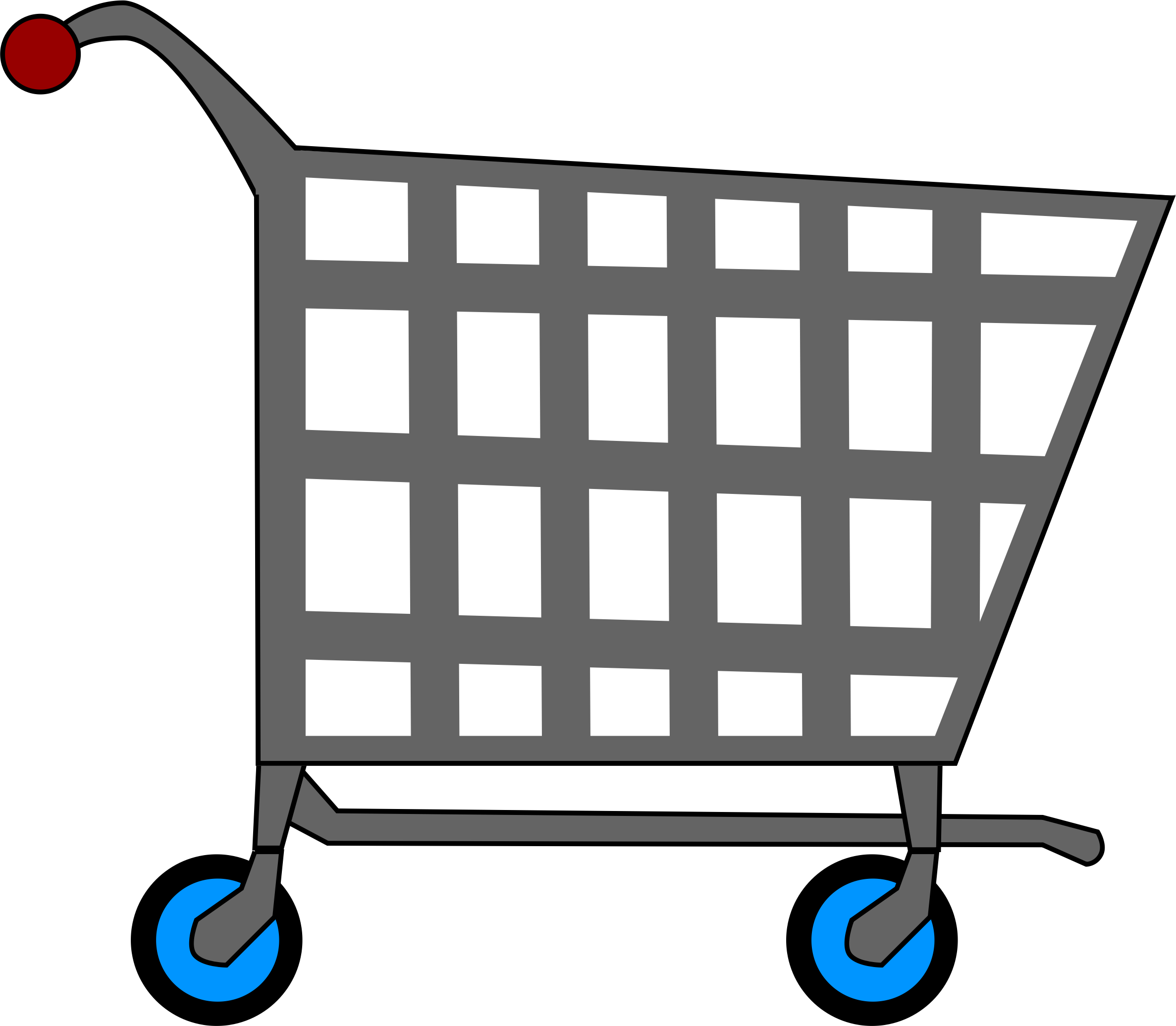 Basic Shopping Cart by MGatESSInc
