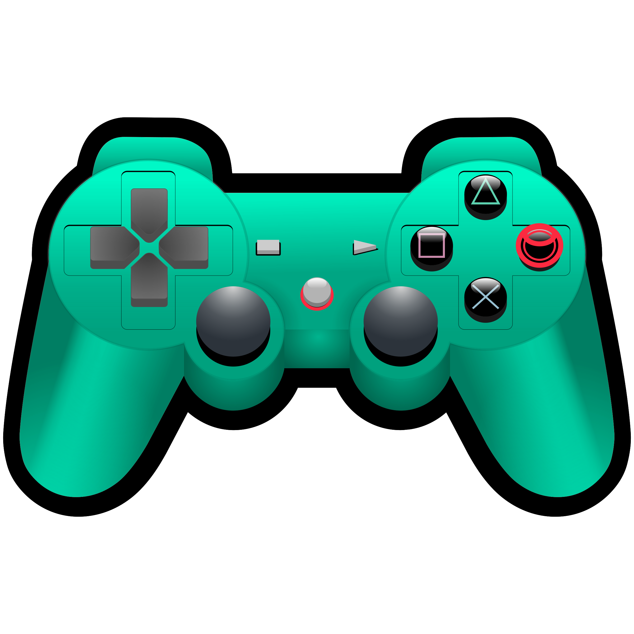 Color PlayStation Controller by MatthewHenninger