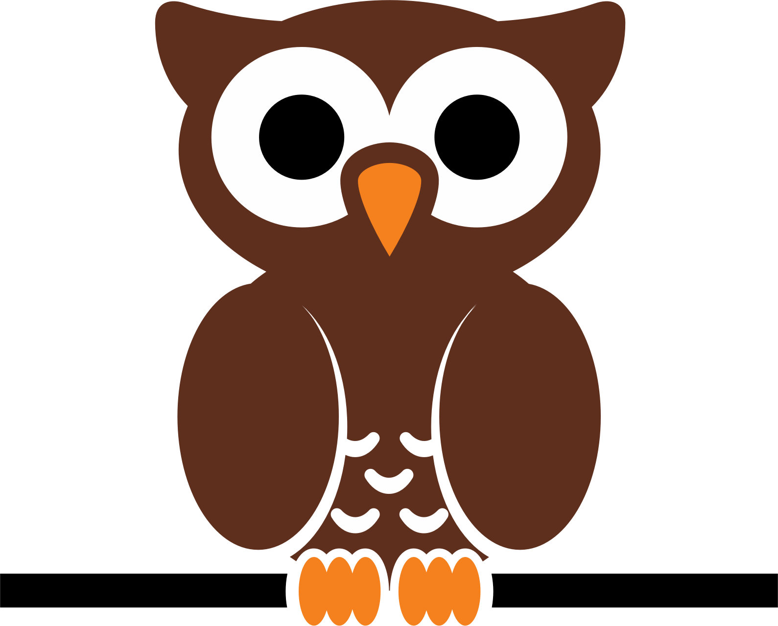 owl on wire by cdsgraphic