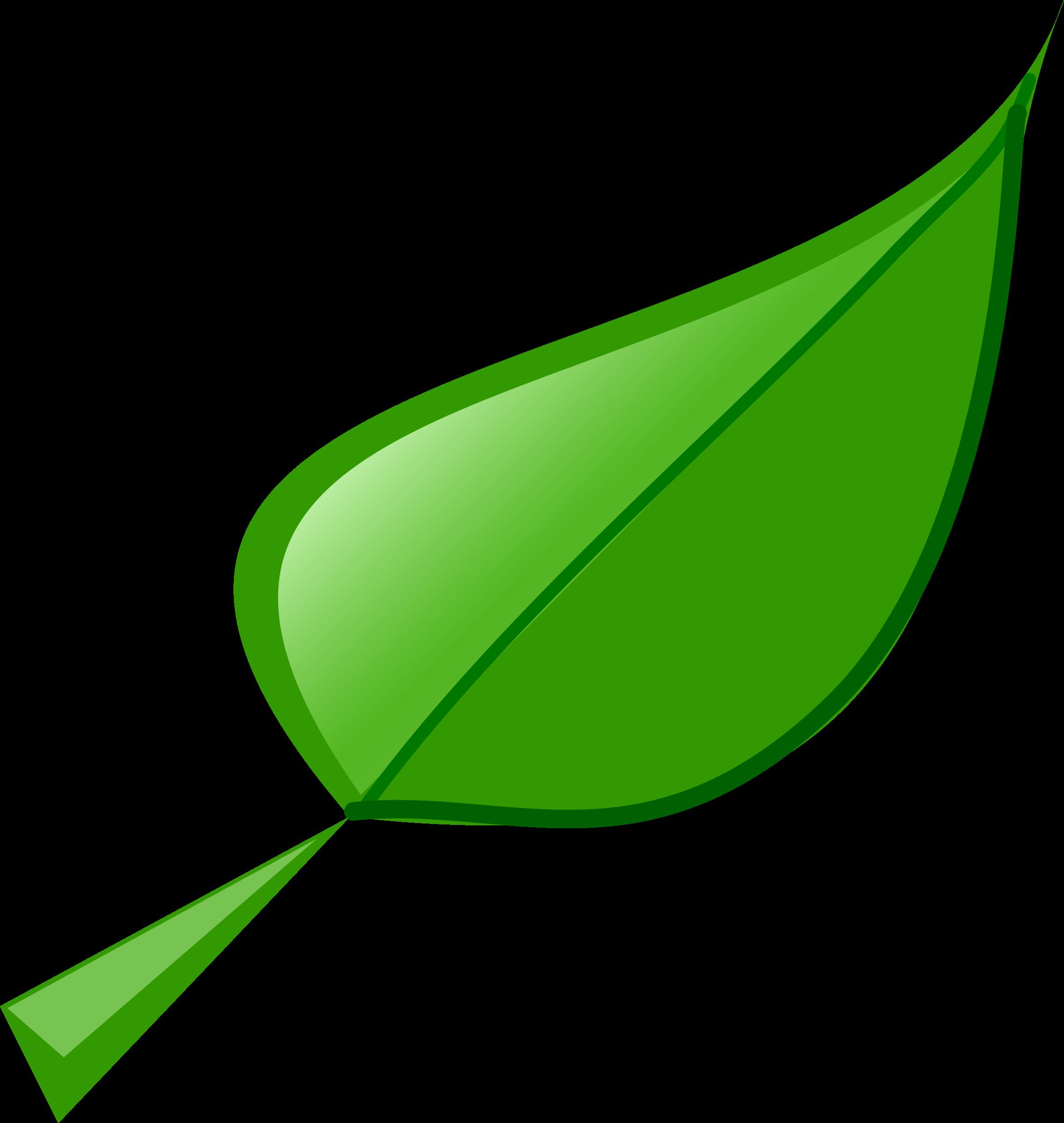 Clipart leaf - Plantas de hojas verdes ...