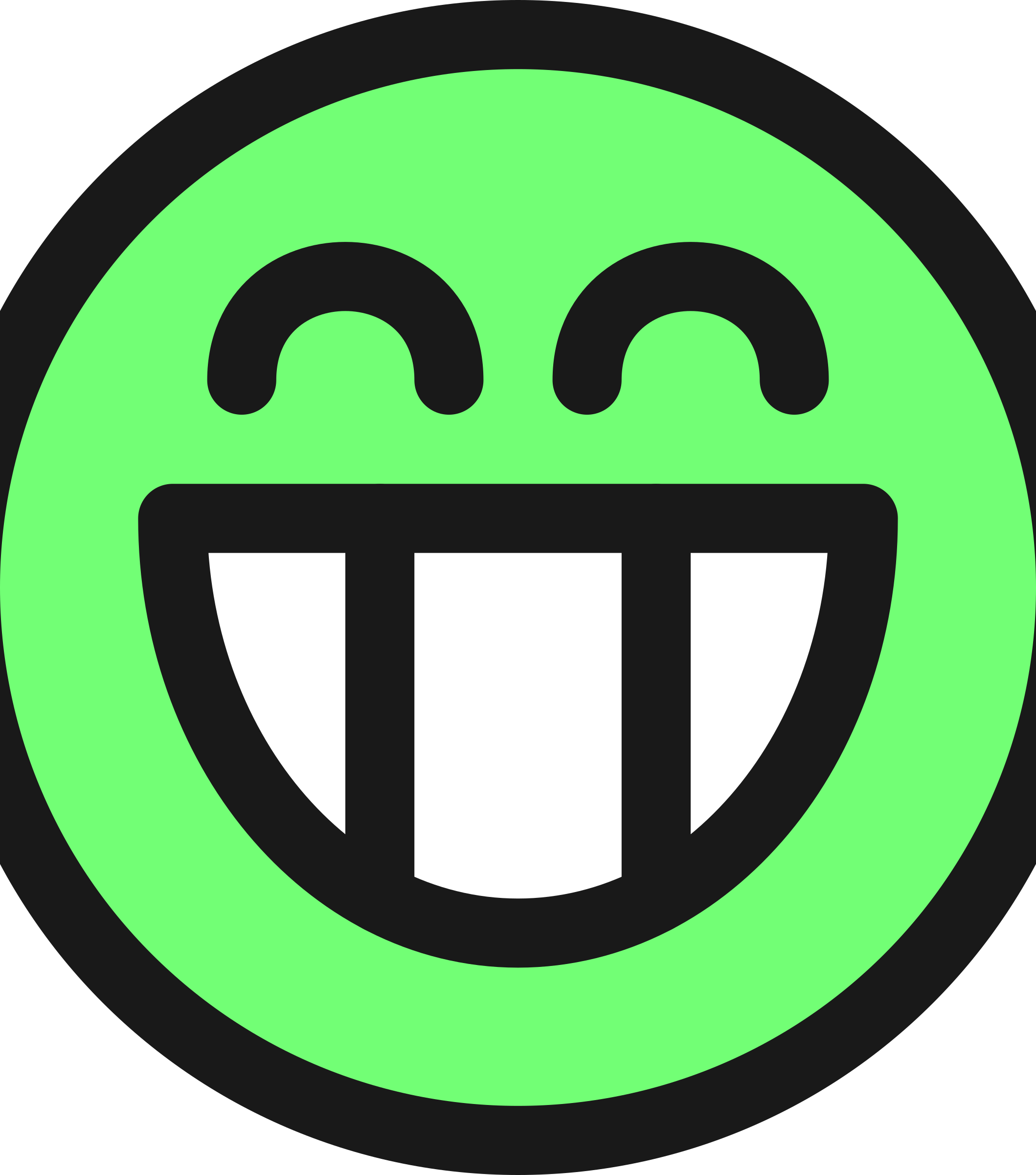 flat grin smiley emotion icon emoticon by qubodup
