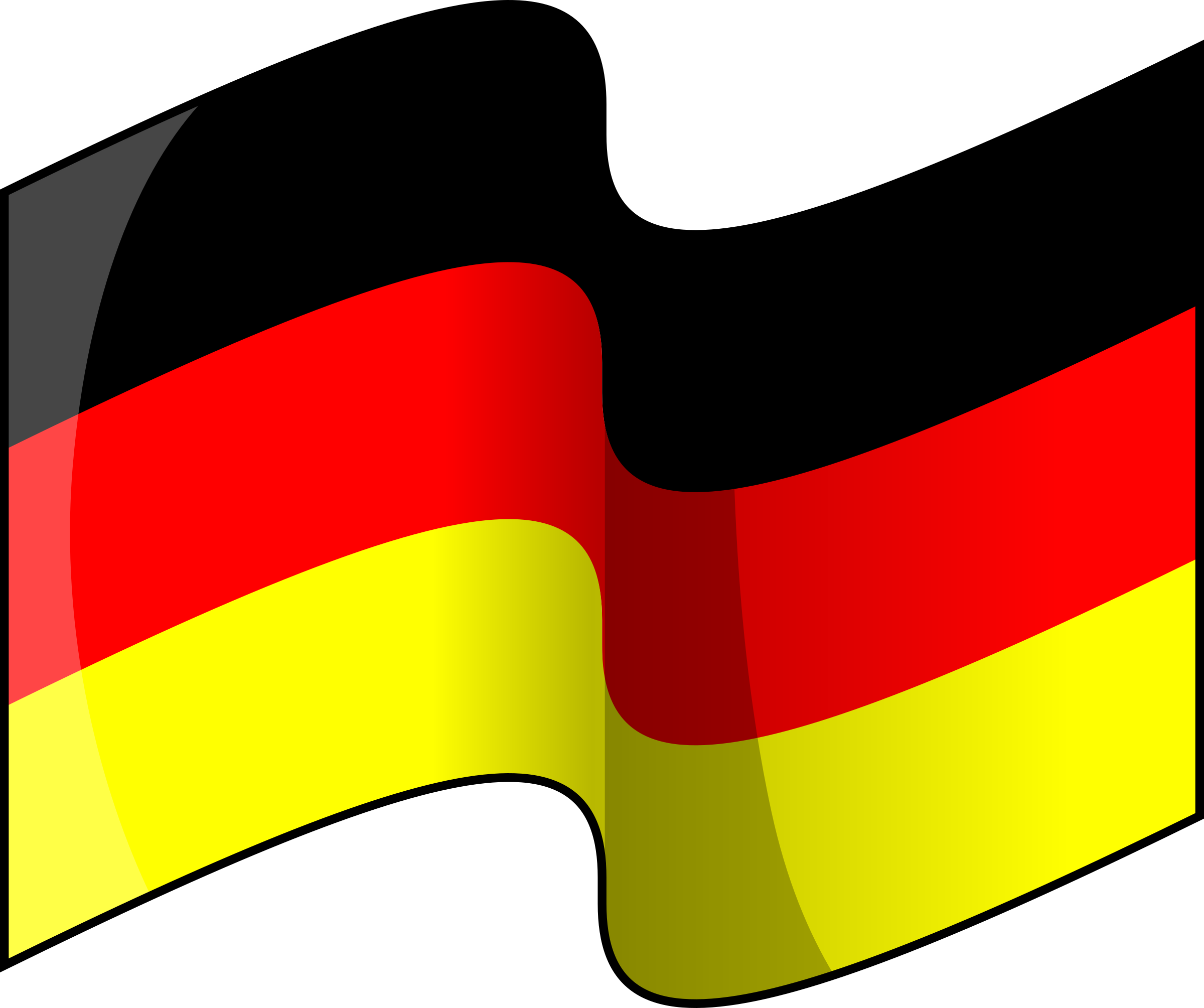 Flag of Germany (waving) by lemmling