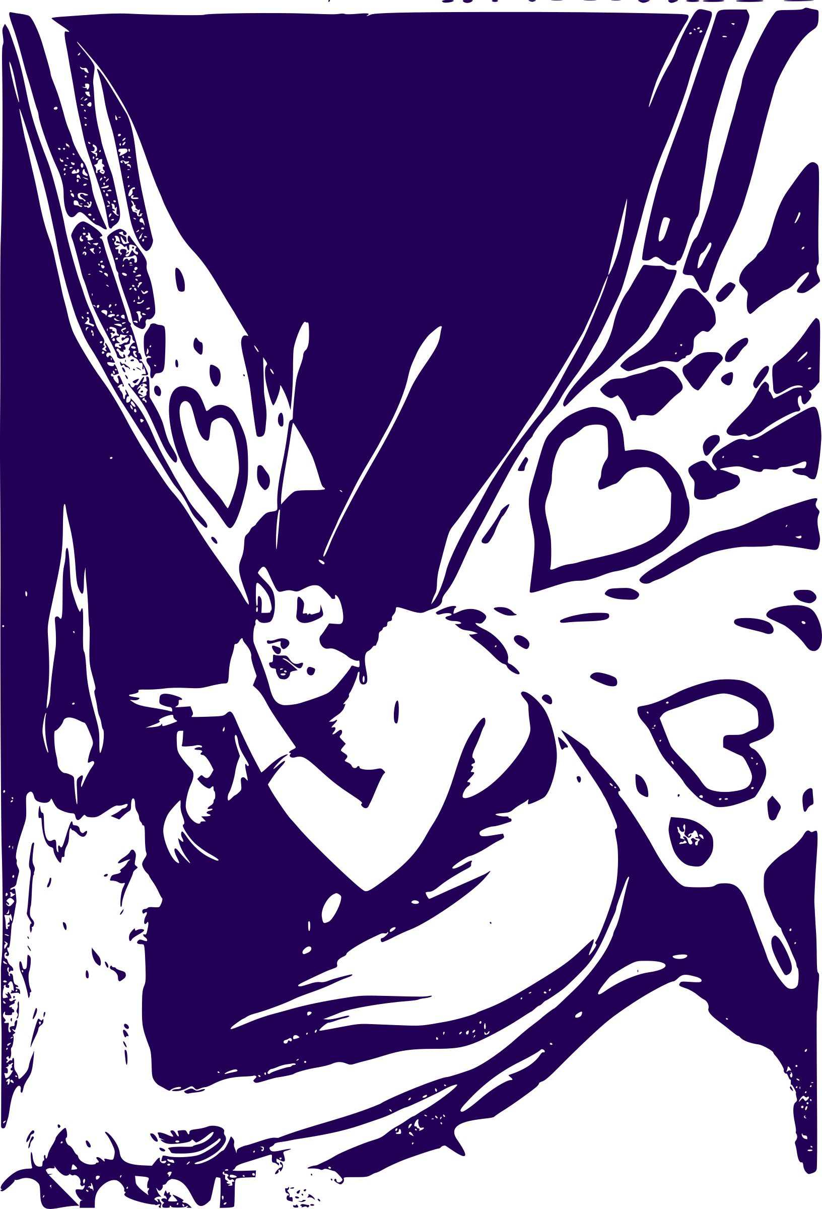 Butterfly Woman by j4p4n