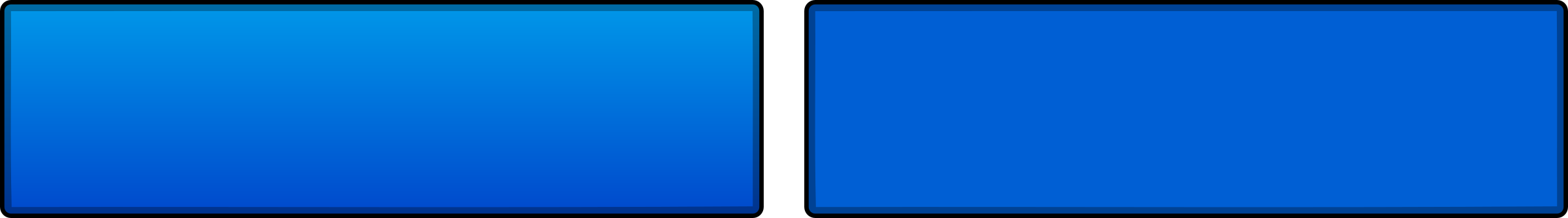 Blue Interface Buttons by asdfturtle