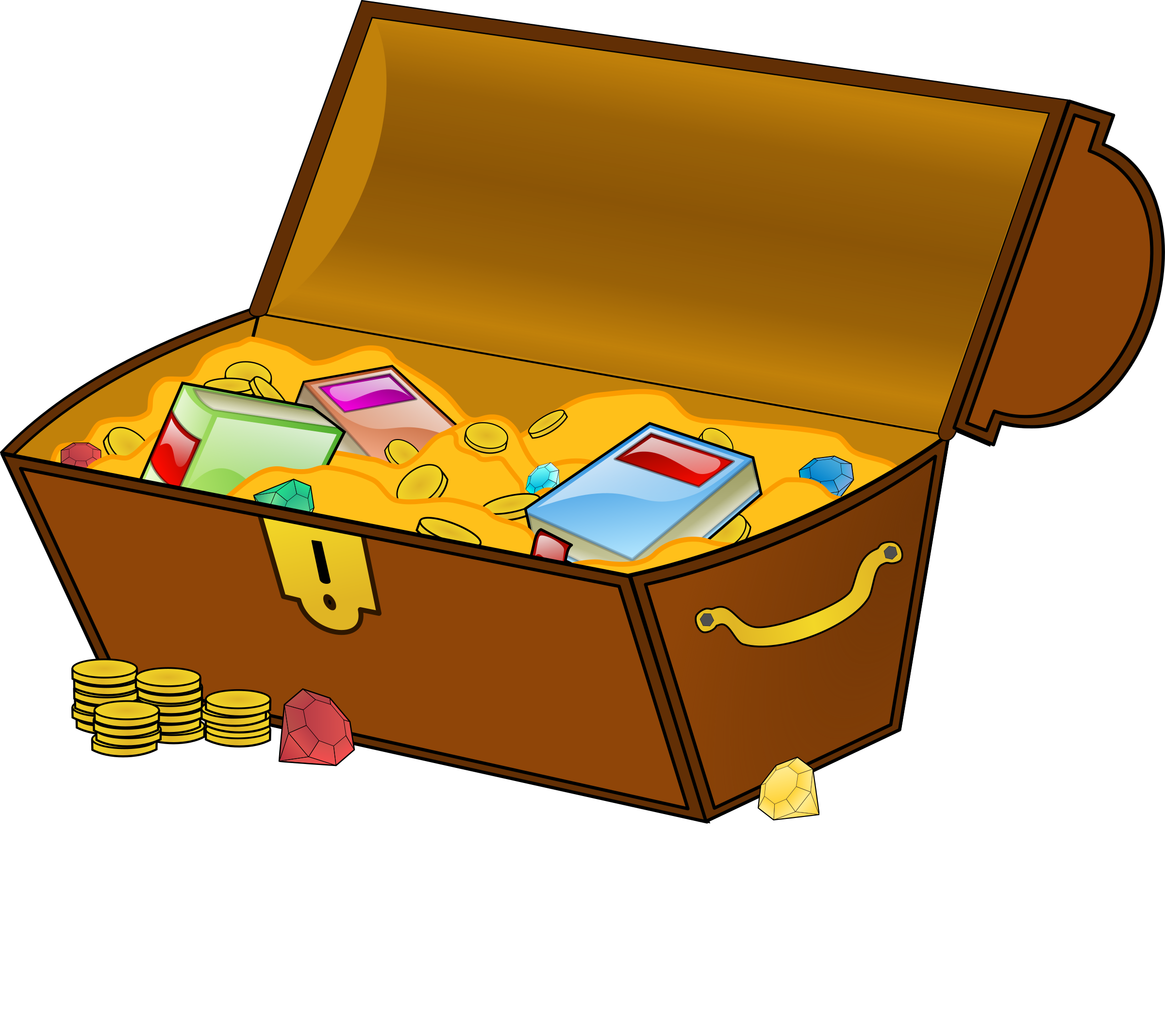 treasure chest by eady