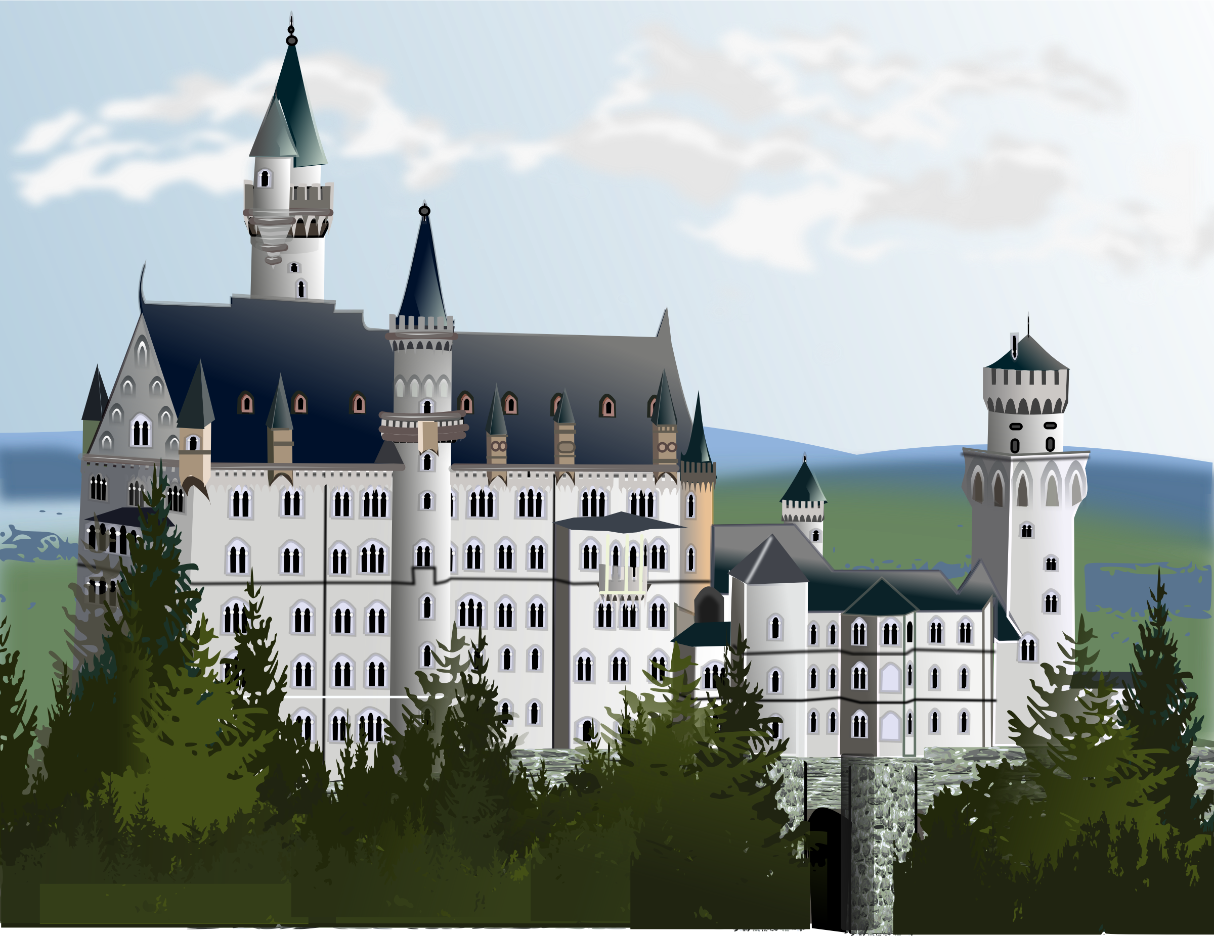 castle with most detail by gurica
