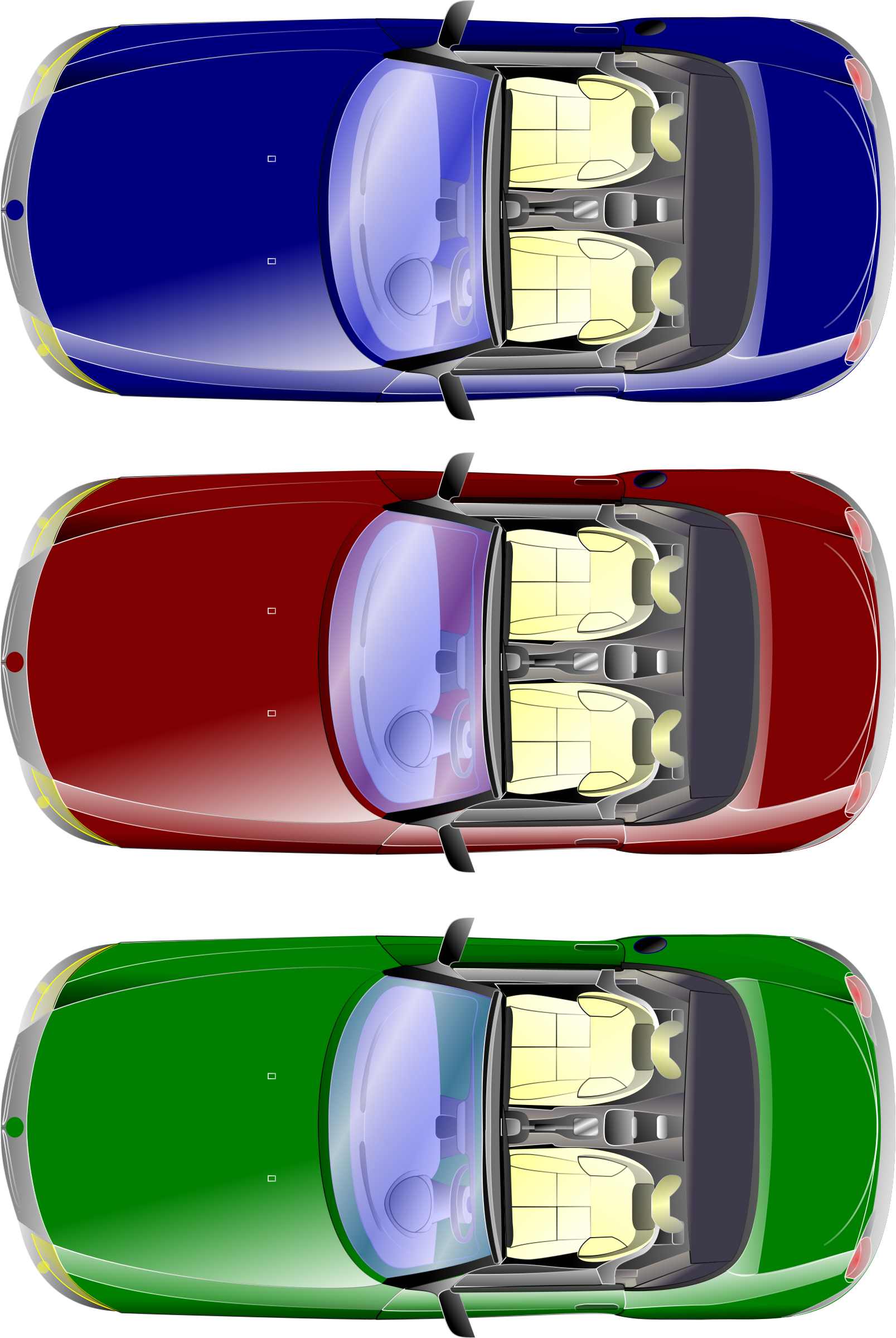 car top view by obi