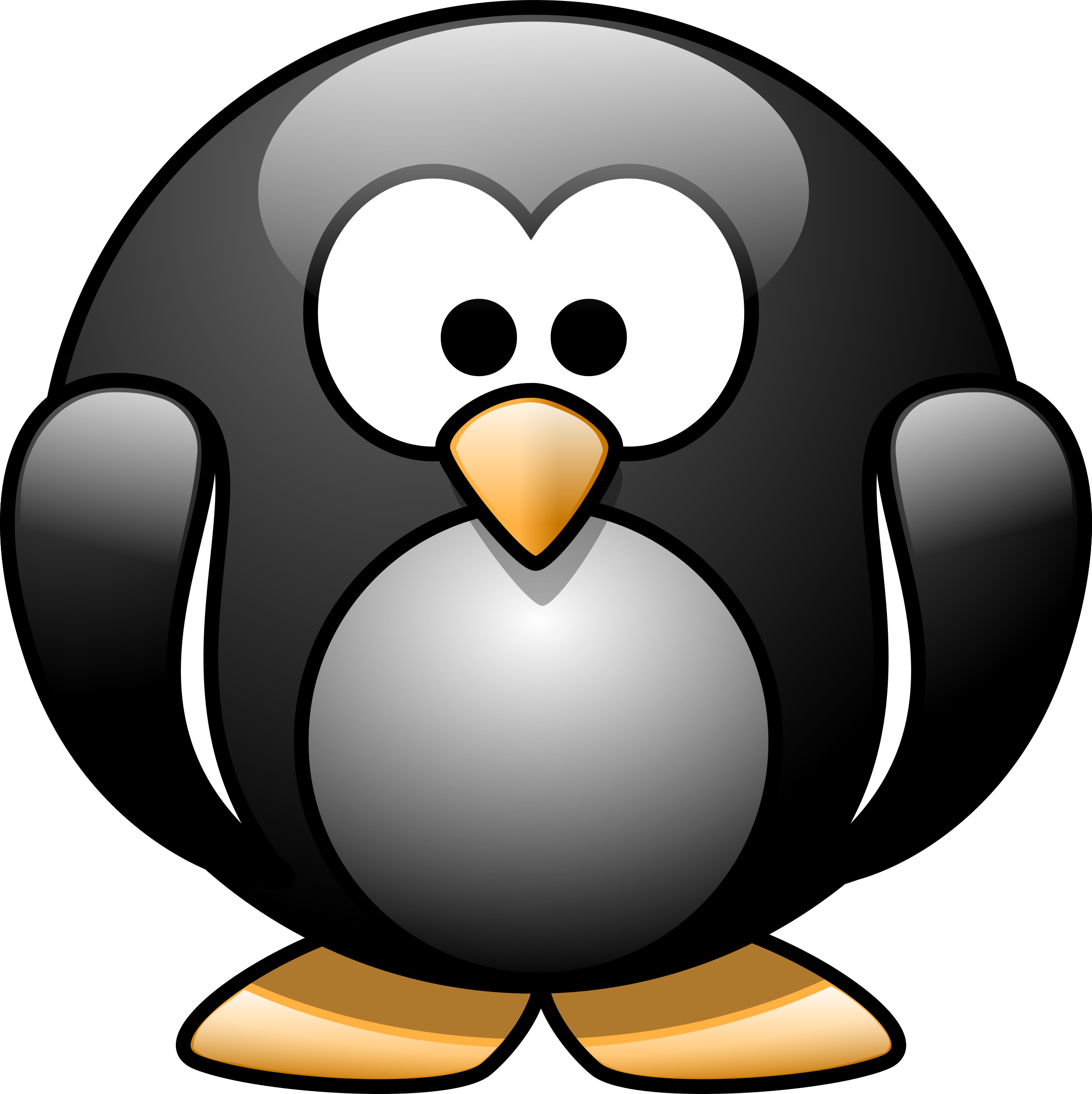 Cartoon penguin 1 by lemmling