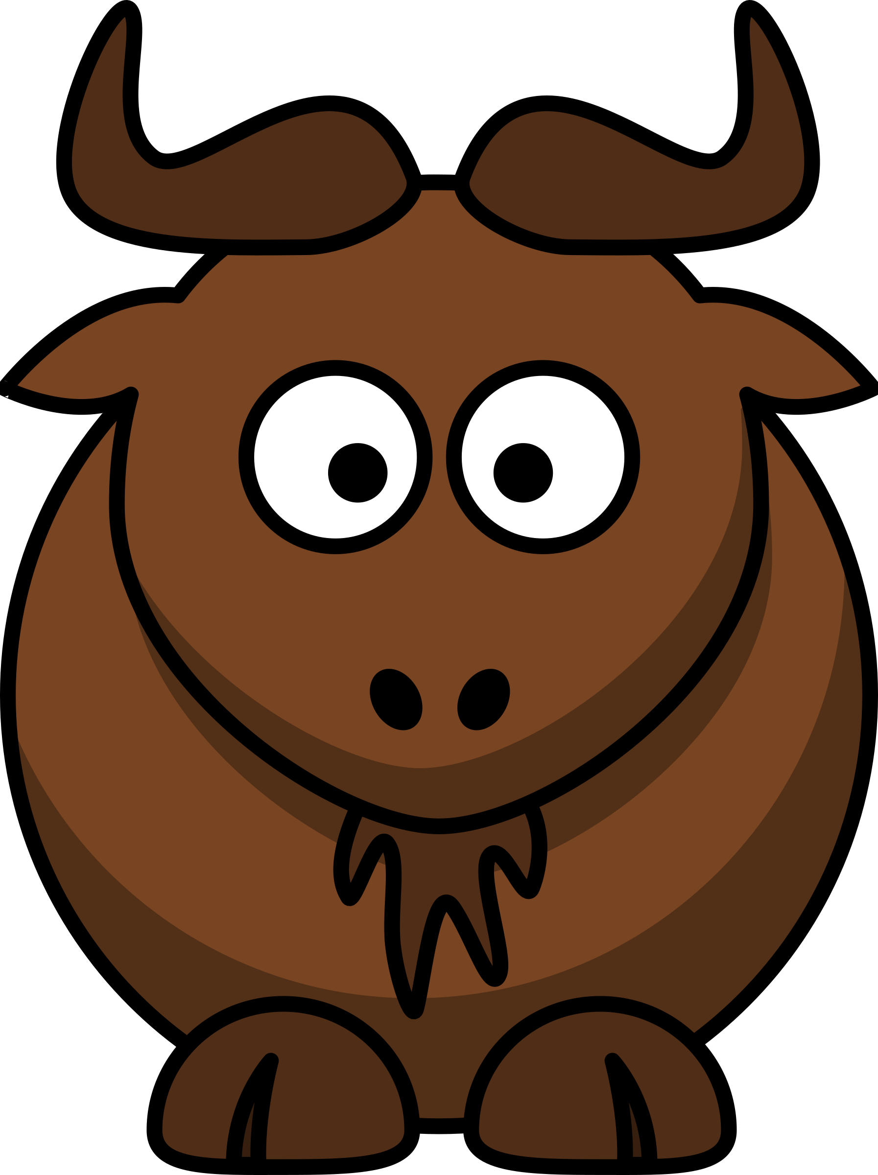 Cartoon gnu by lemmling