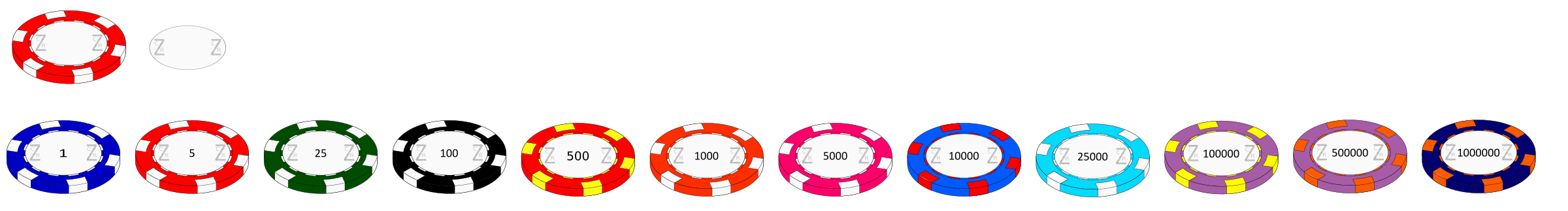 Casino Chips by kasmanit