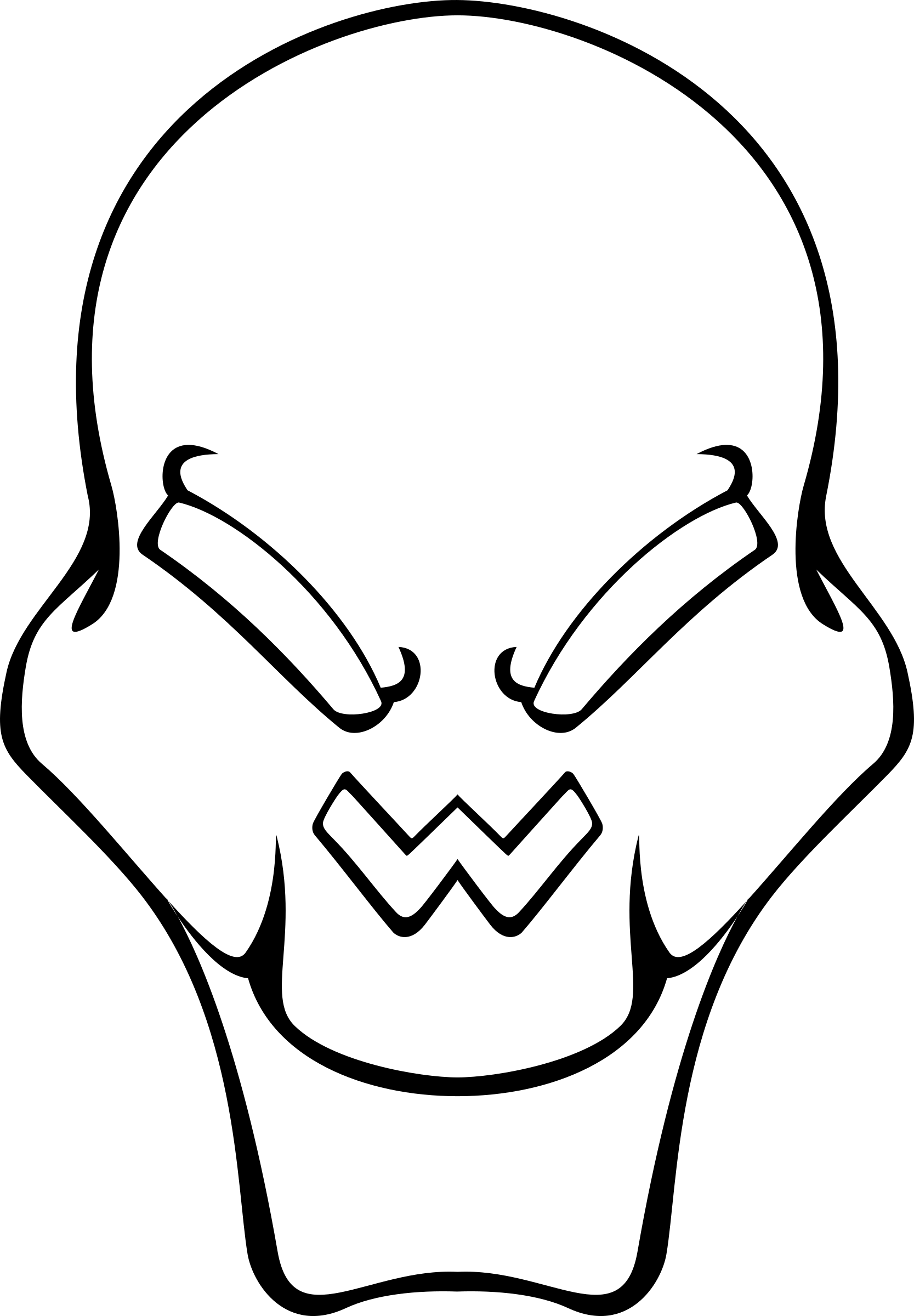 alien skull by drunken_duck