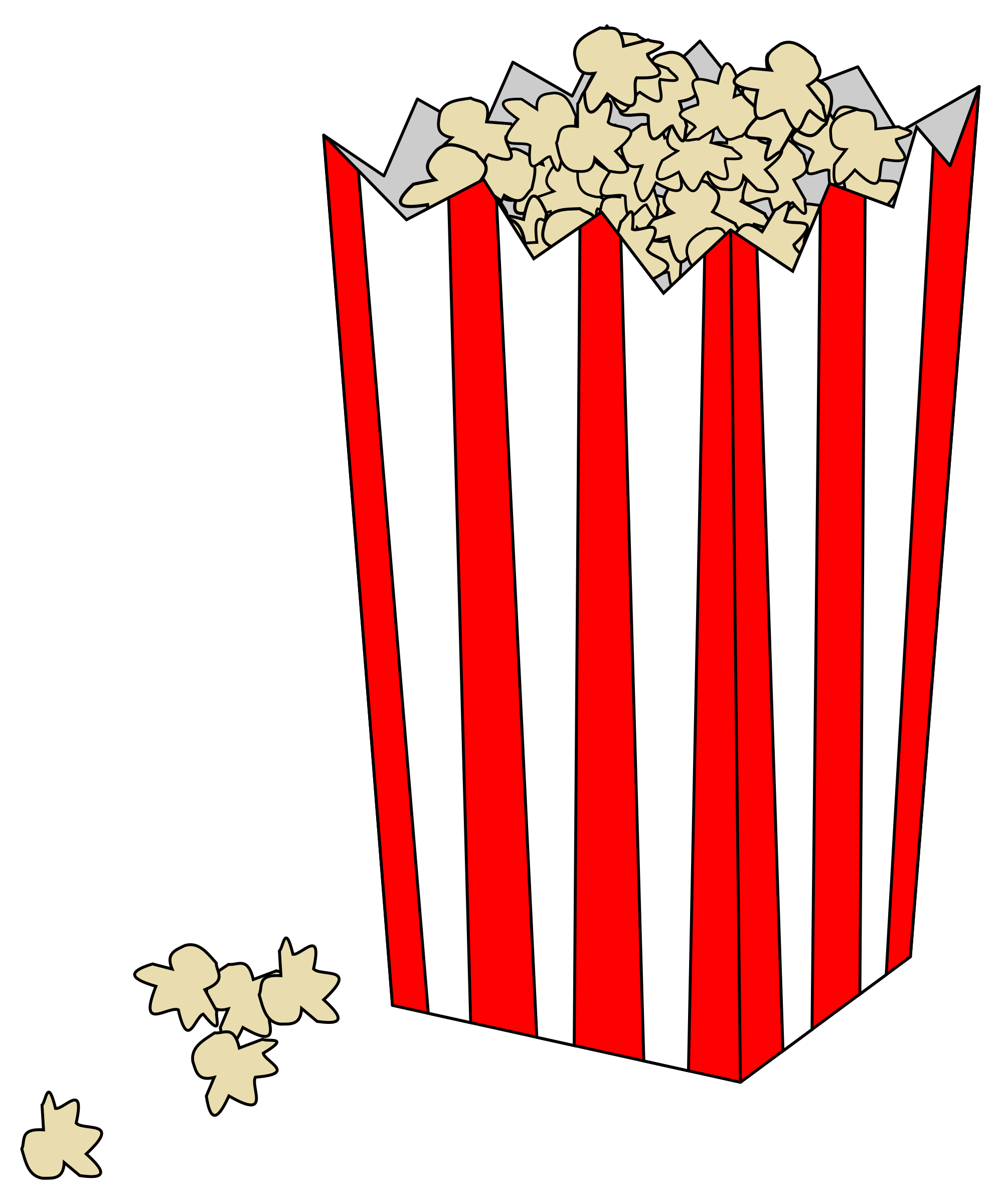 Movie Popcorn Bag by rocke86