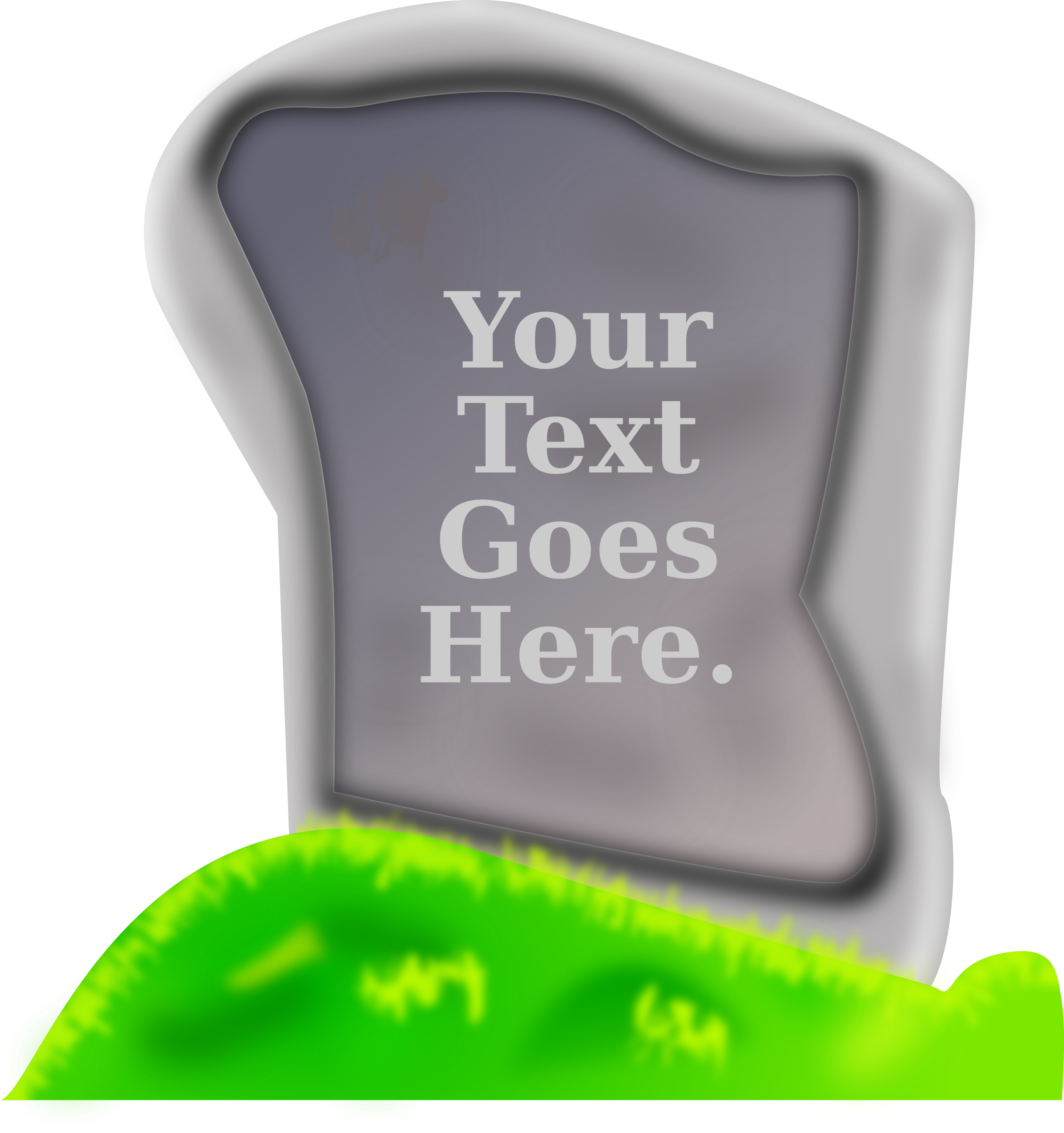Empty Gravestone by Bosser