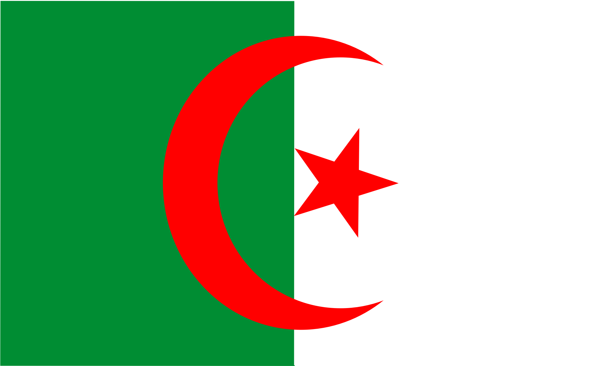 Algeria Flag Clipart