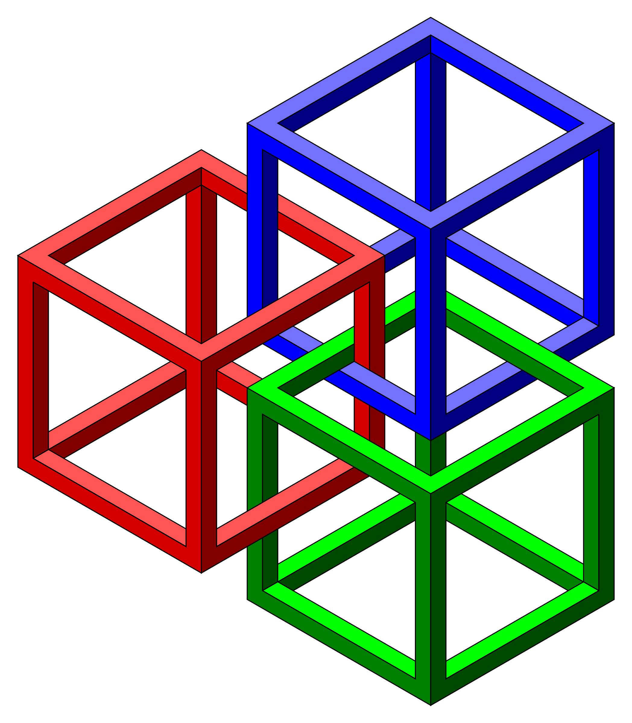 Impossible cubes by jarda