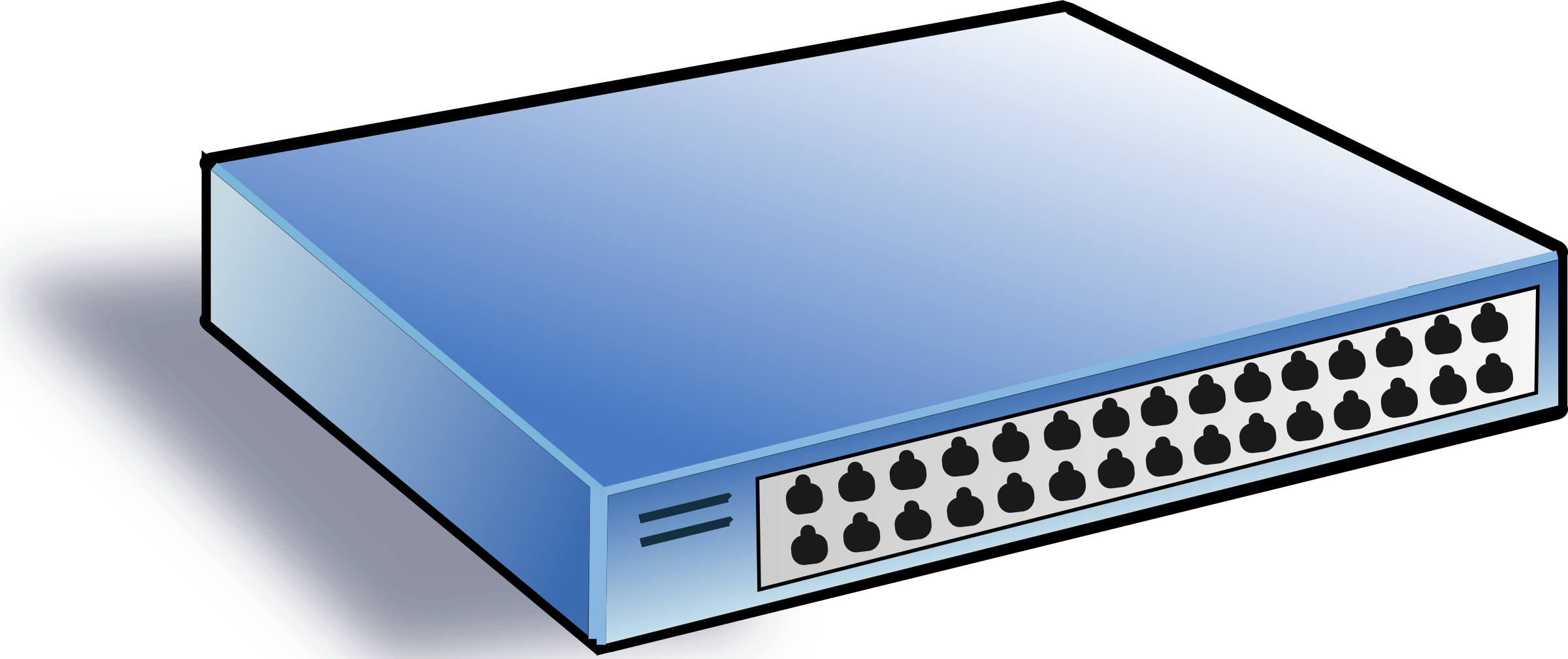 Clipart Of Network Switch
