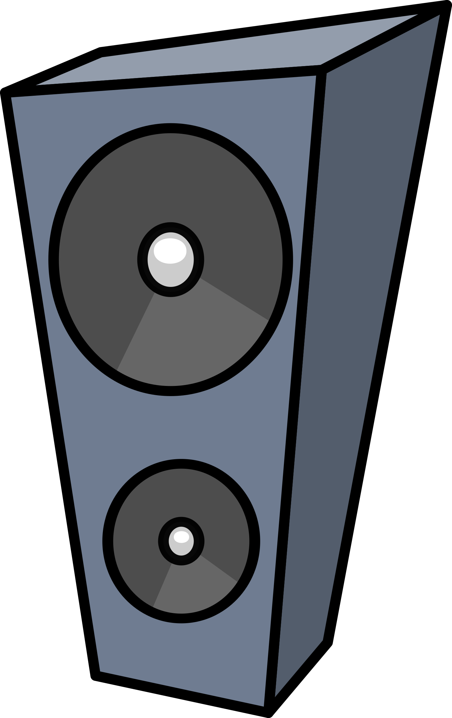 Cartoon speaker by lemmling