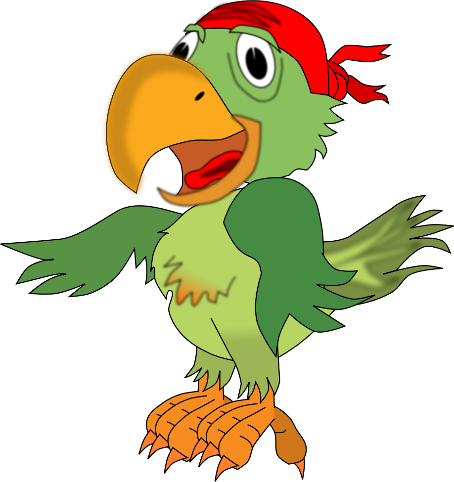 Pirate parrot by Eypros