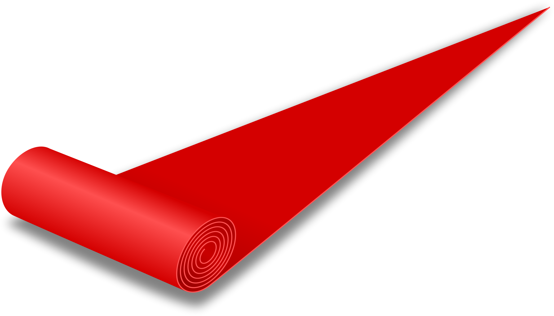 Clipart red carpet for Carpet roll logo