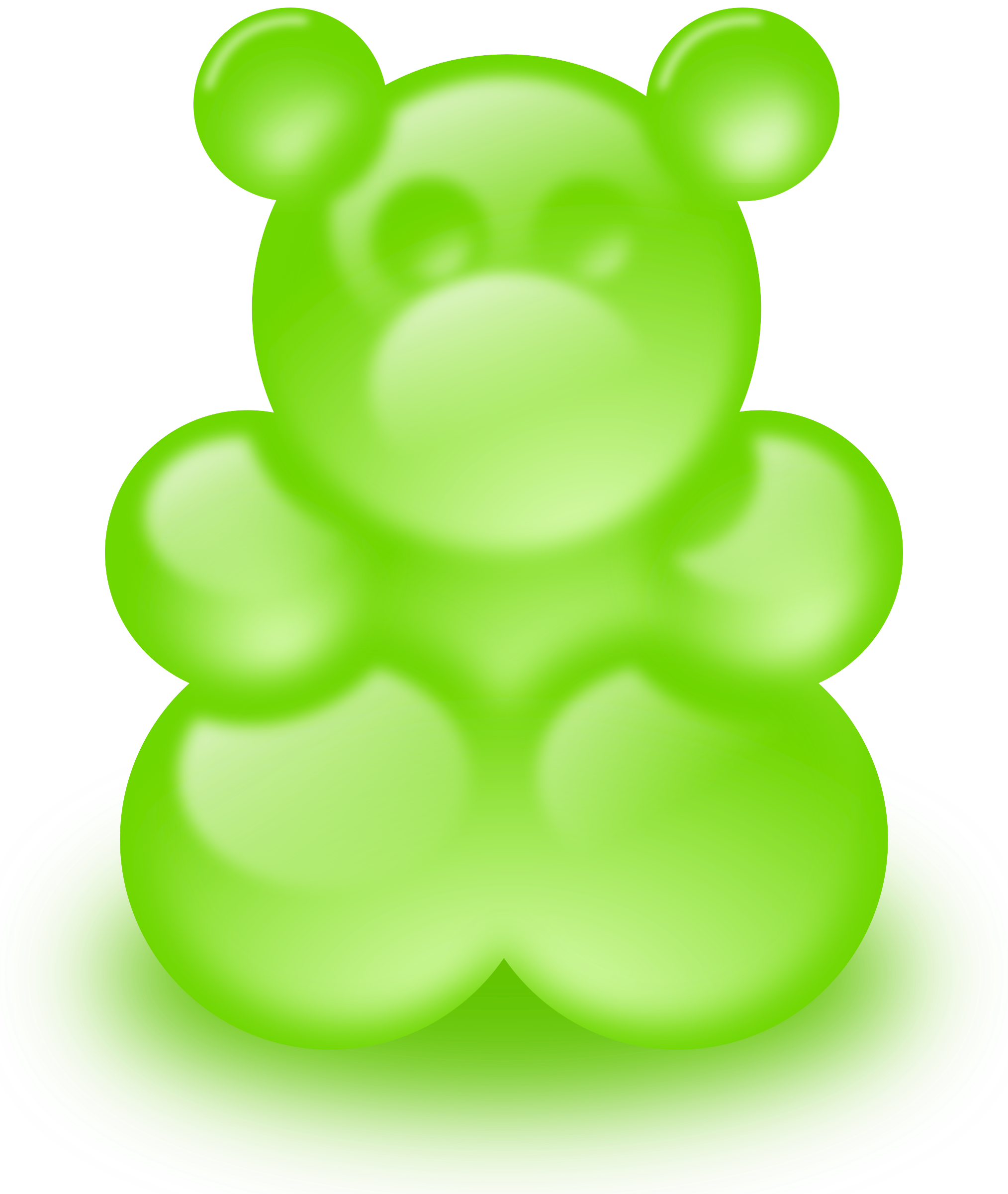 Gummy bear (sort of) by lemmling