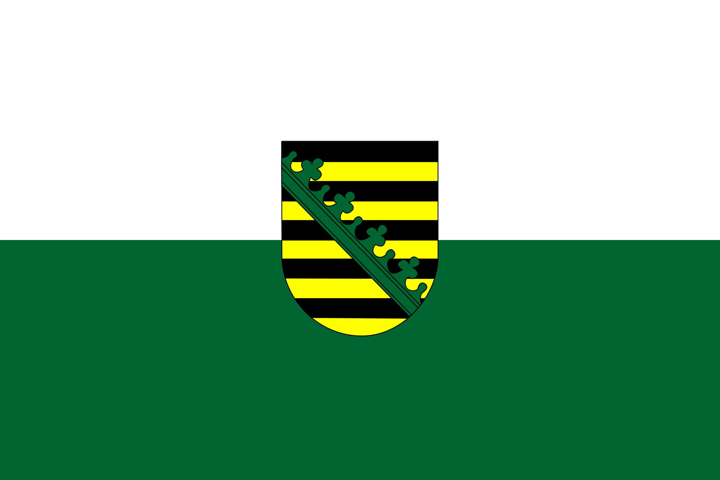 Flag of Saxony by tobias
