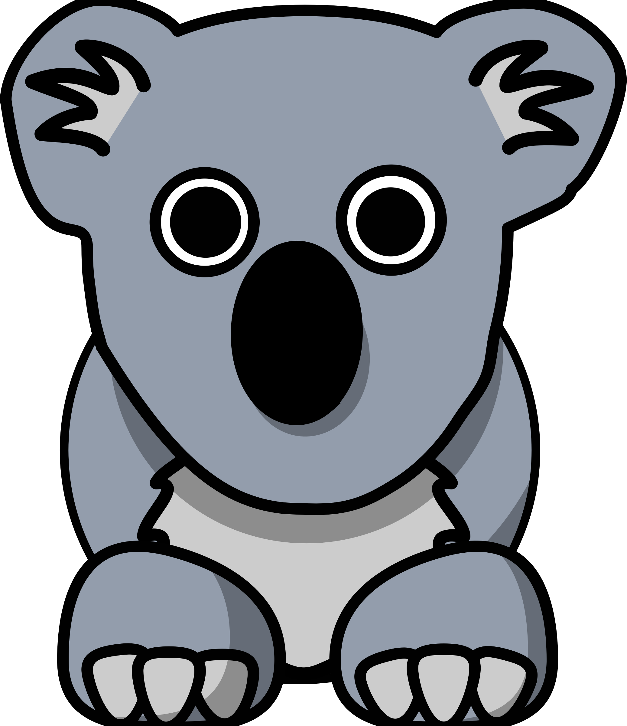 Cartoon Koala by aPAULcalypse