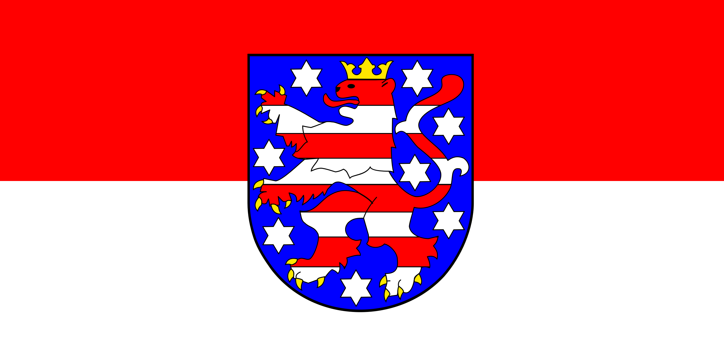 Flag of Thuringia by tobias