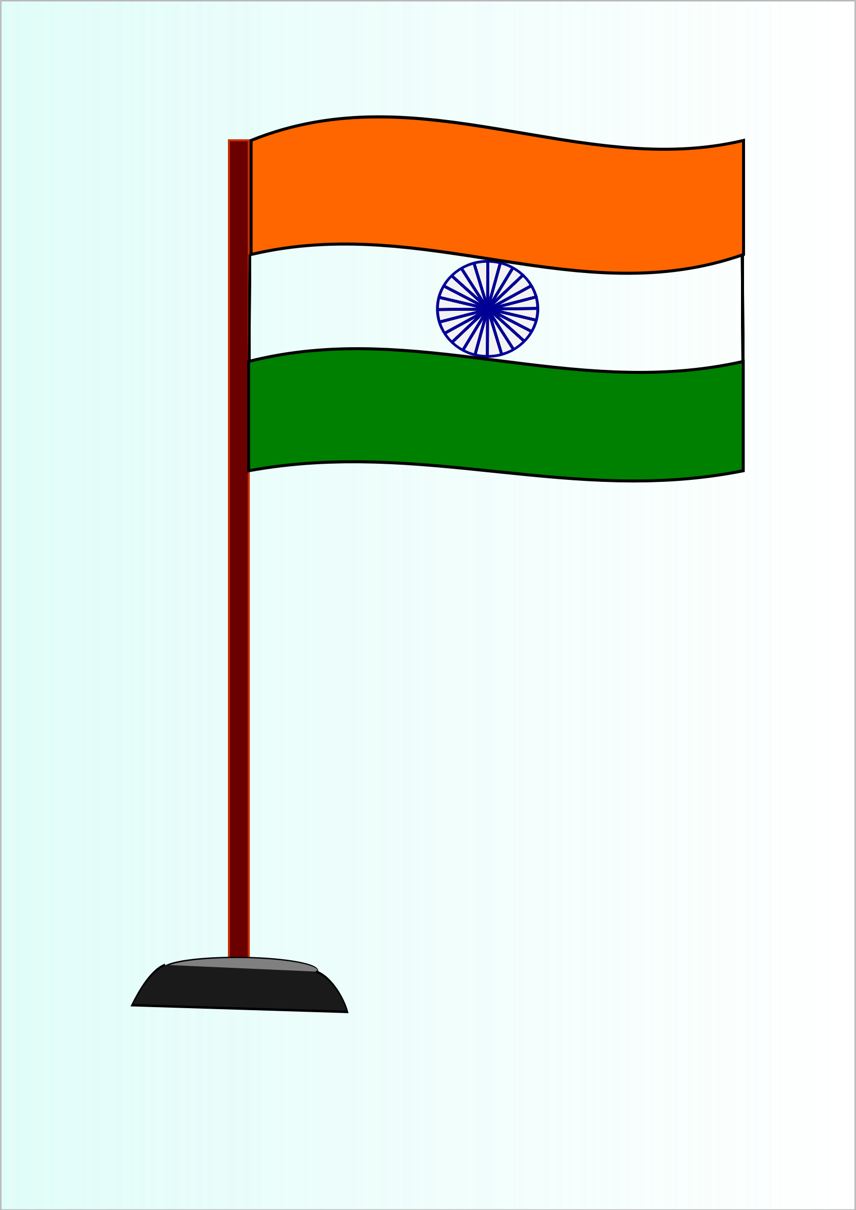 Indian National Flag by saurabhgup889
