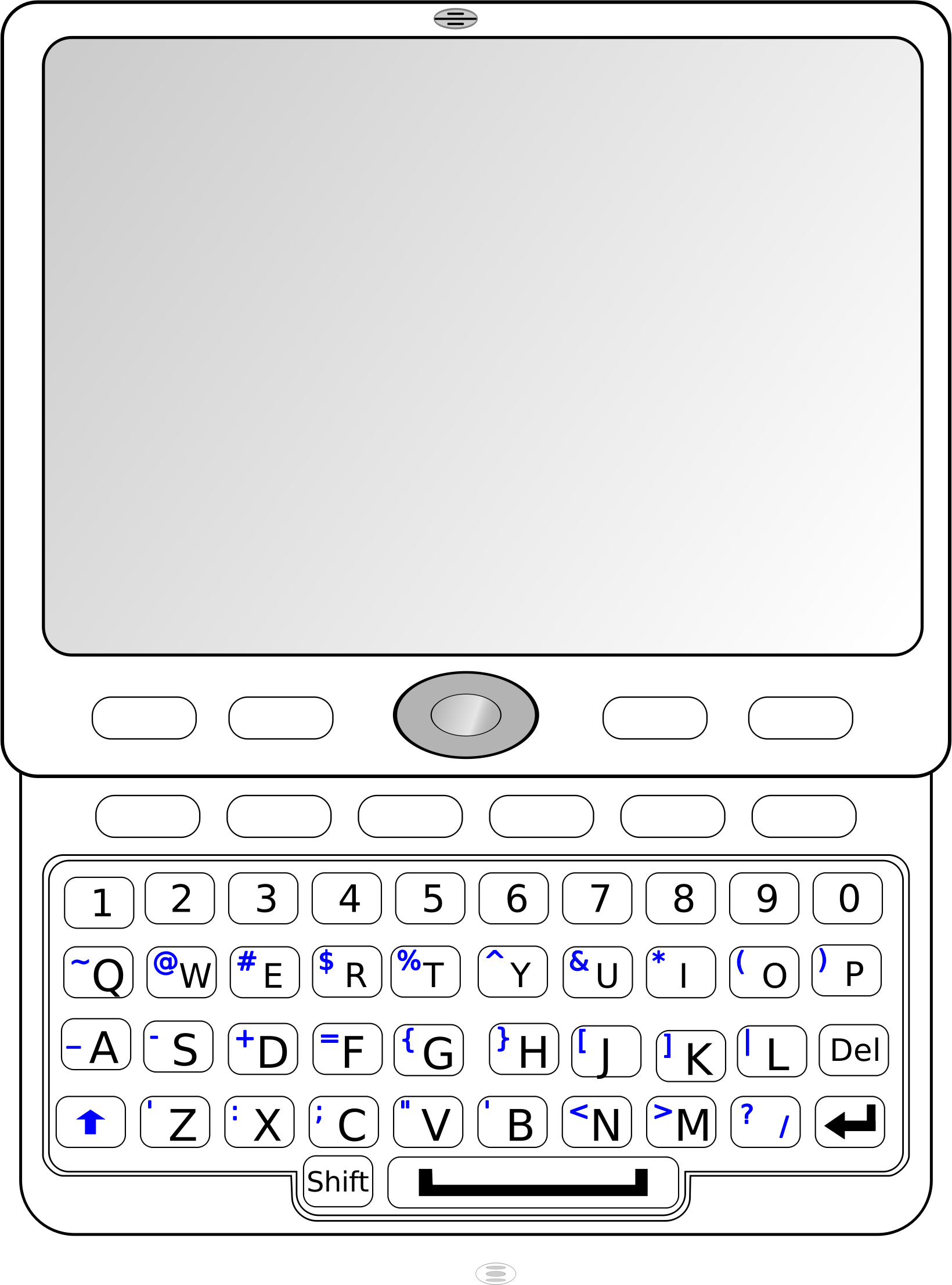 QWERTY Slider Phone by Andrew_R_Thomas