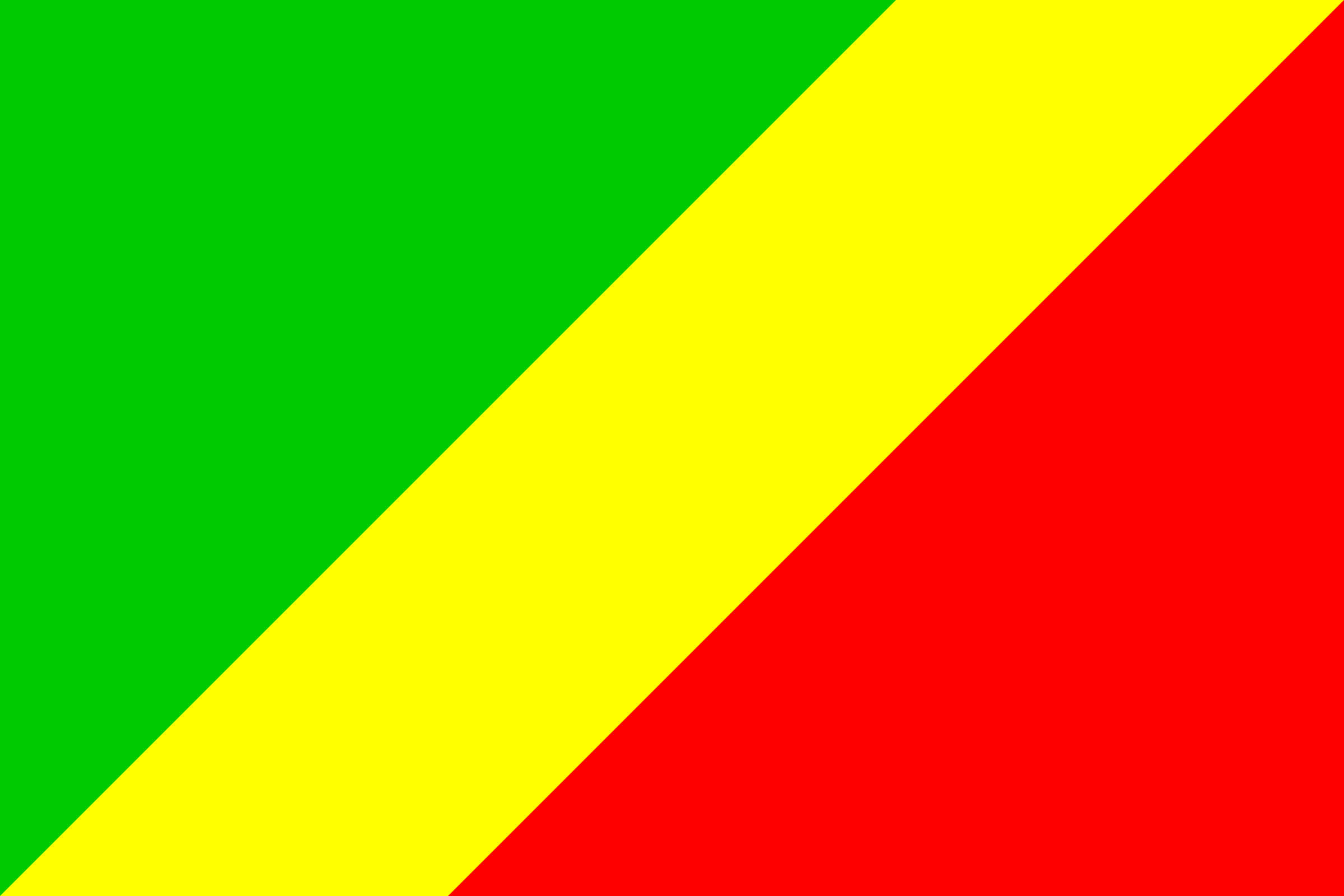Flag of Congo-Brazzaville by tobias