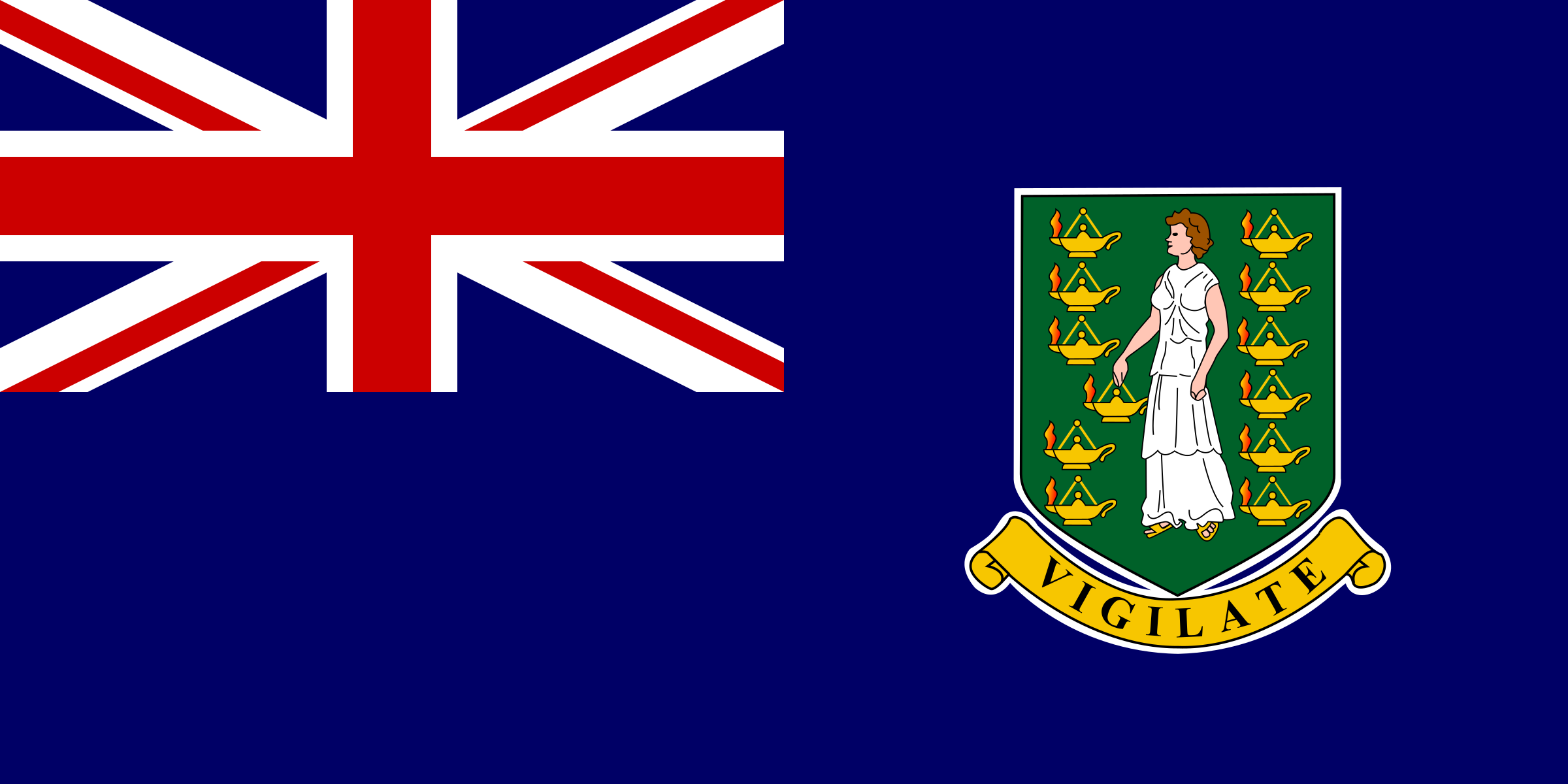 Flag of British Virgin Islands by tobias