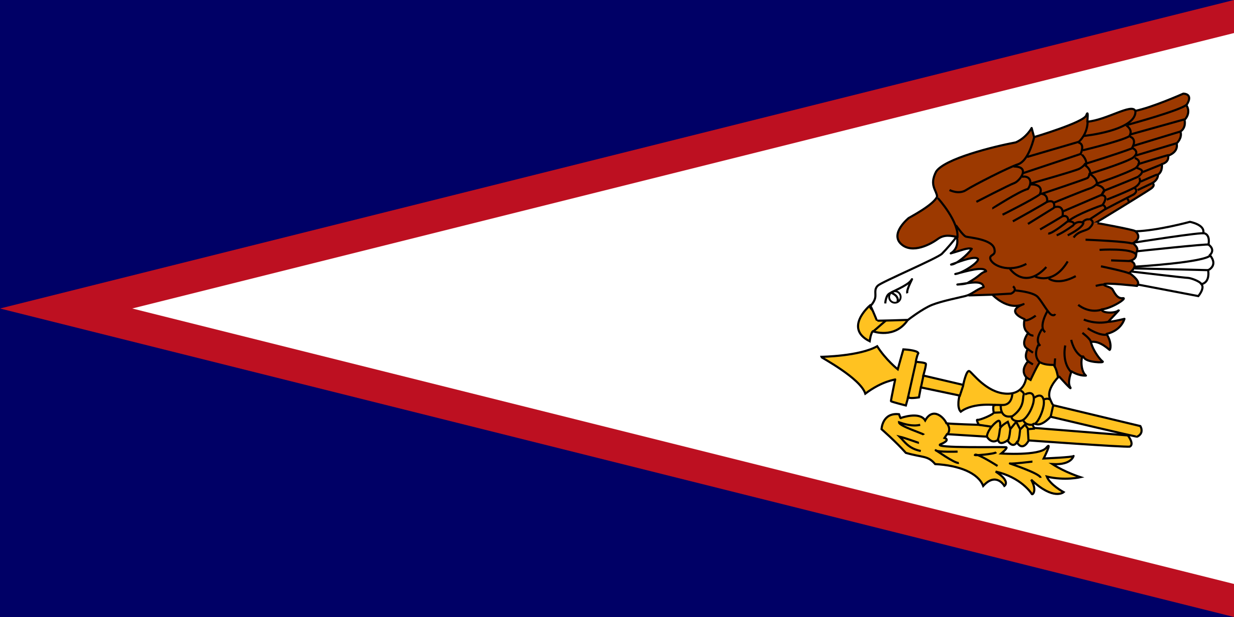 Flag of American Samoa by tobias