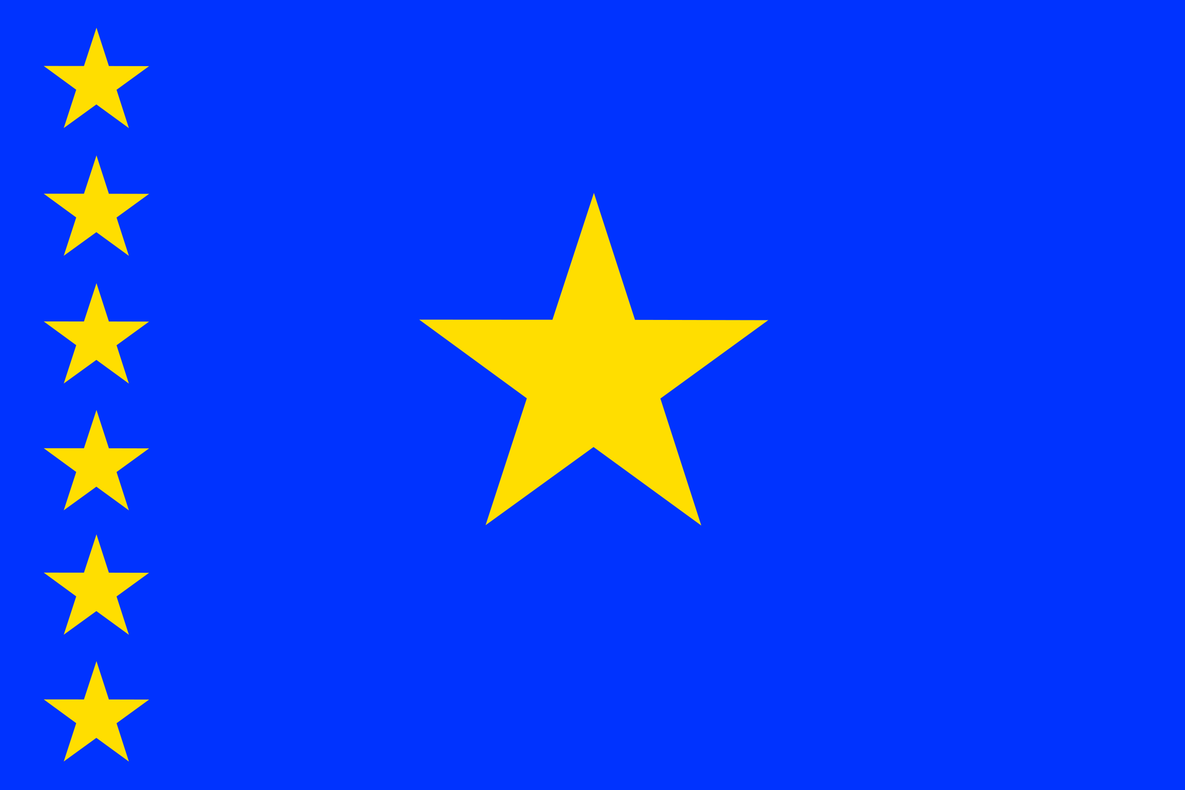 Flag of Congo Kinshasa by tobias
