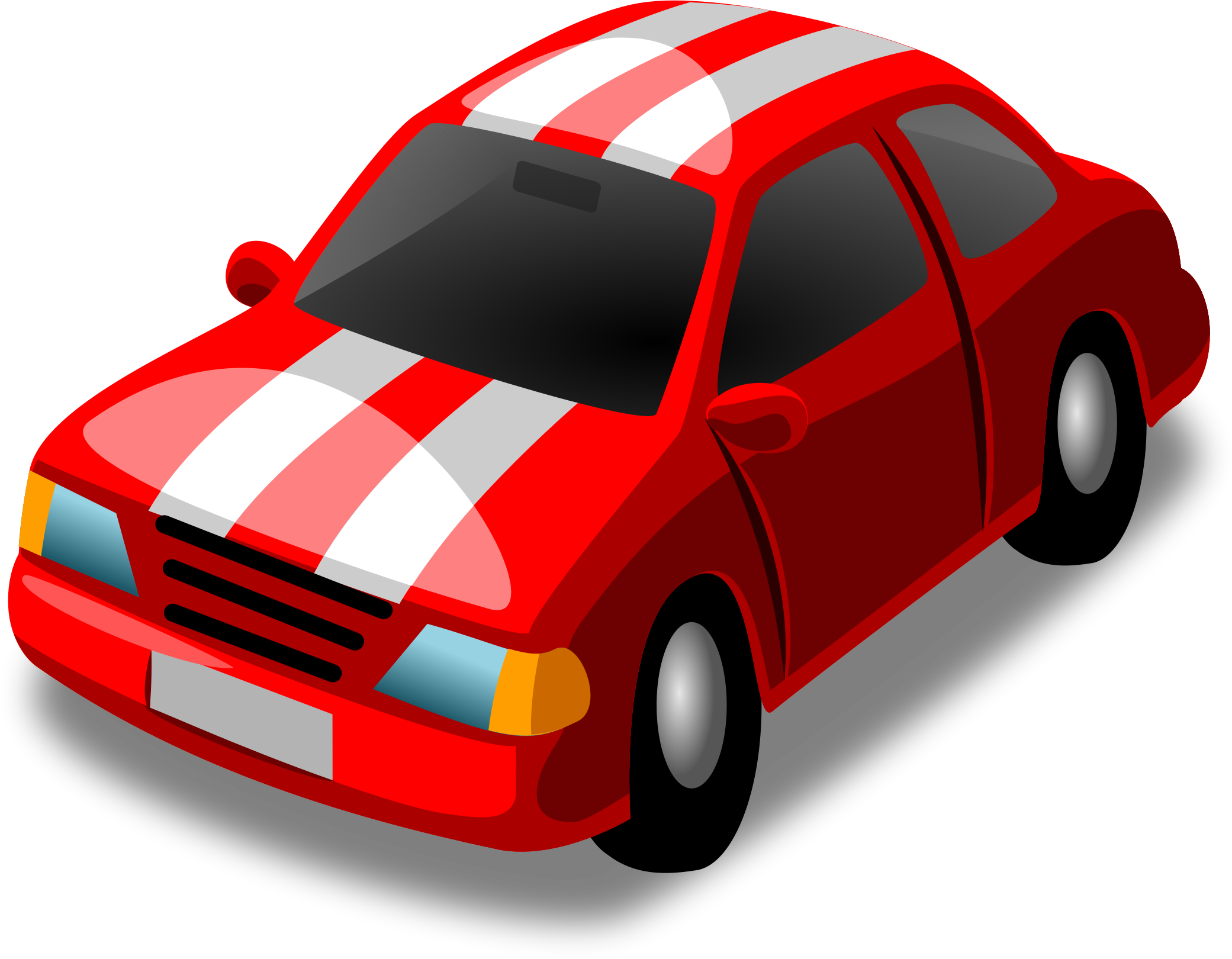 Red Racing Car Clipart Little Red Racing Car