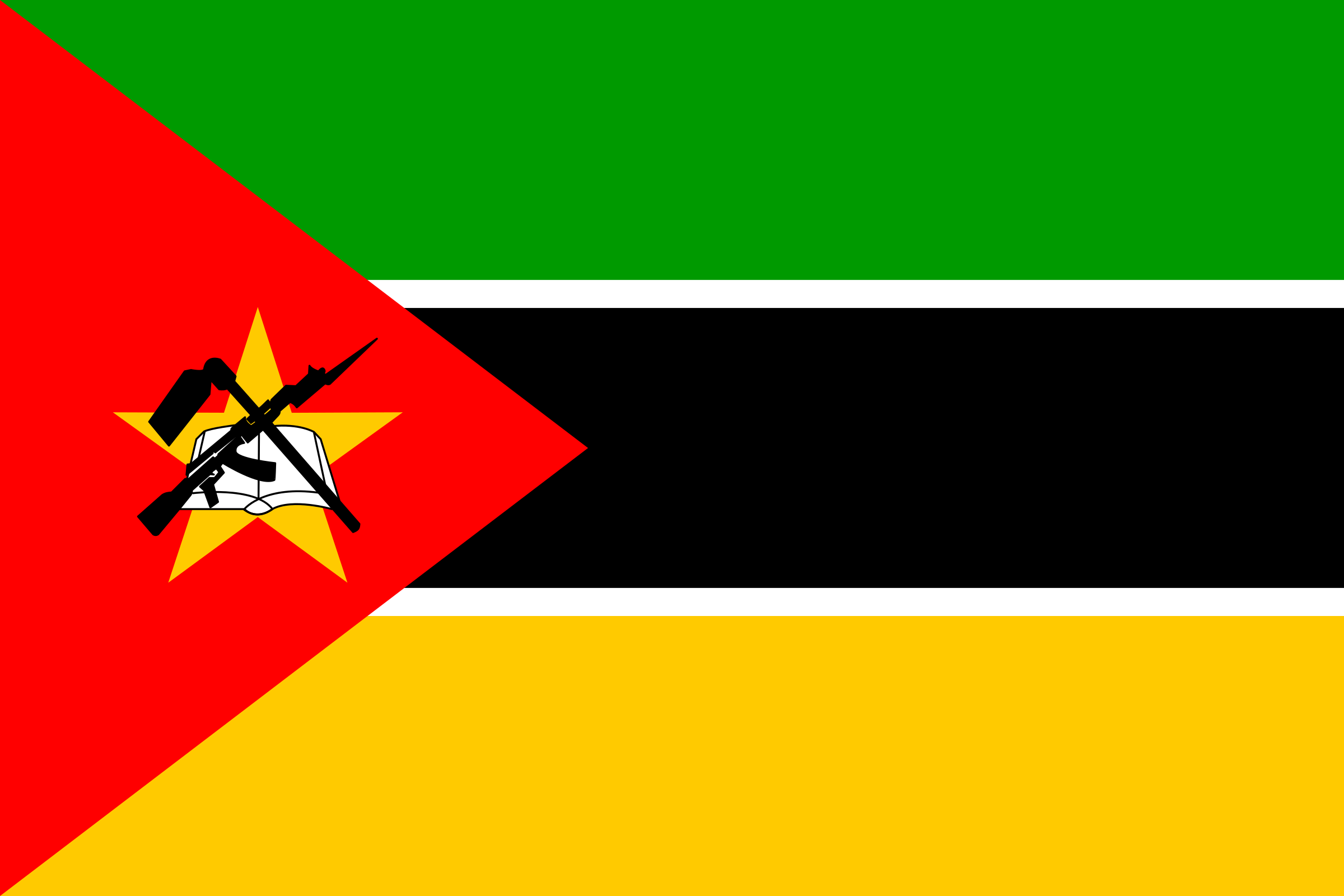 Flag of Mozambique by tobias