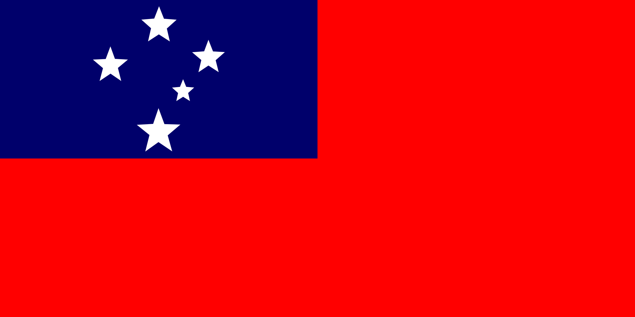 Flag of Samoa by tobias